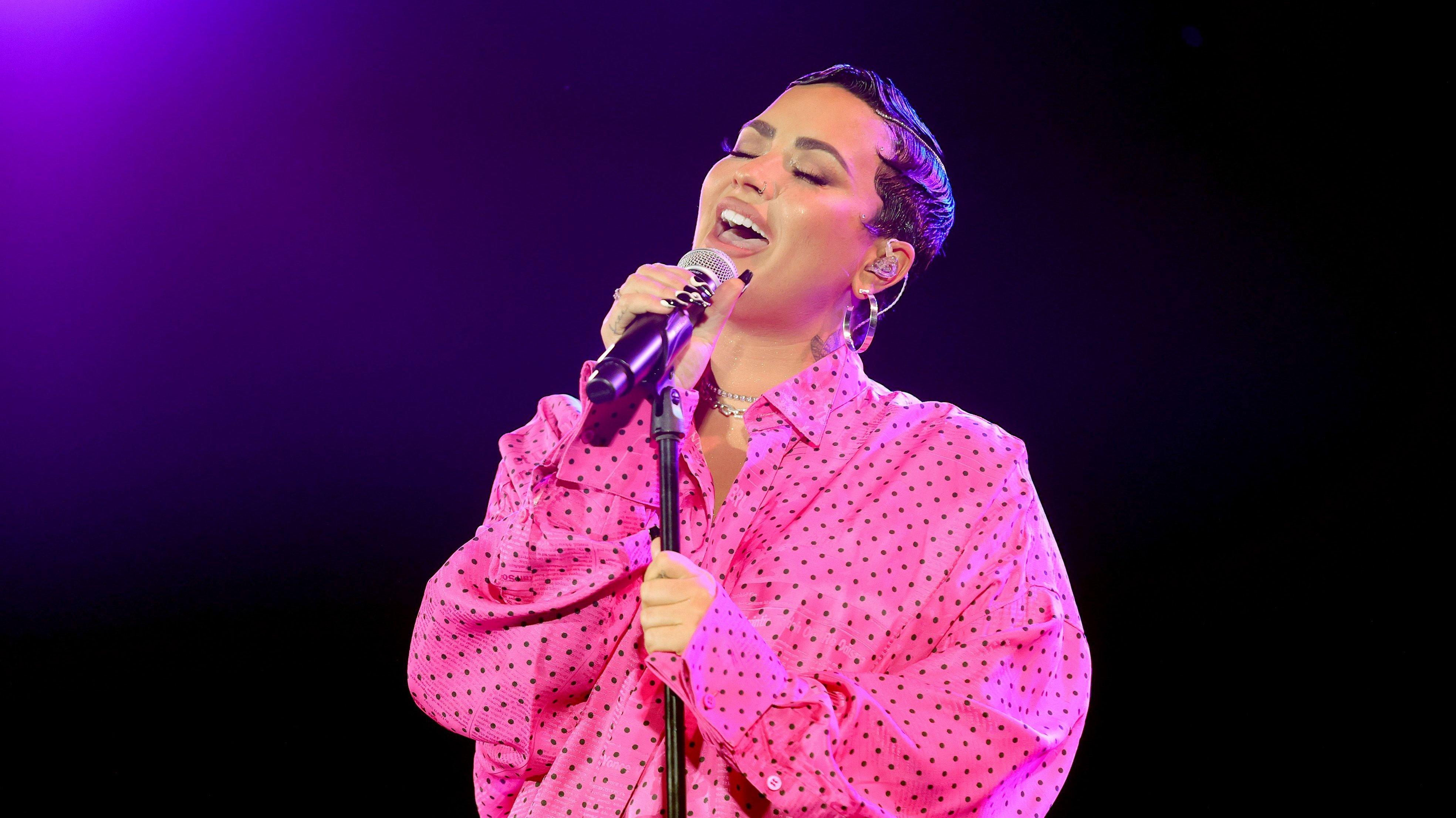 """OBB Premiere Event For YouTube Originals Docuseries """"Demi Lovato: Dancing With The Devil"""""""