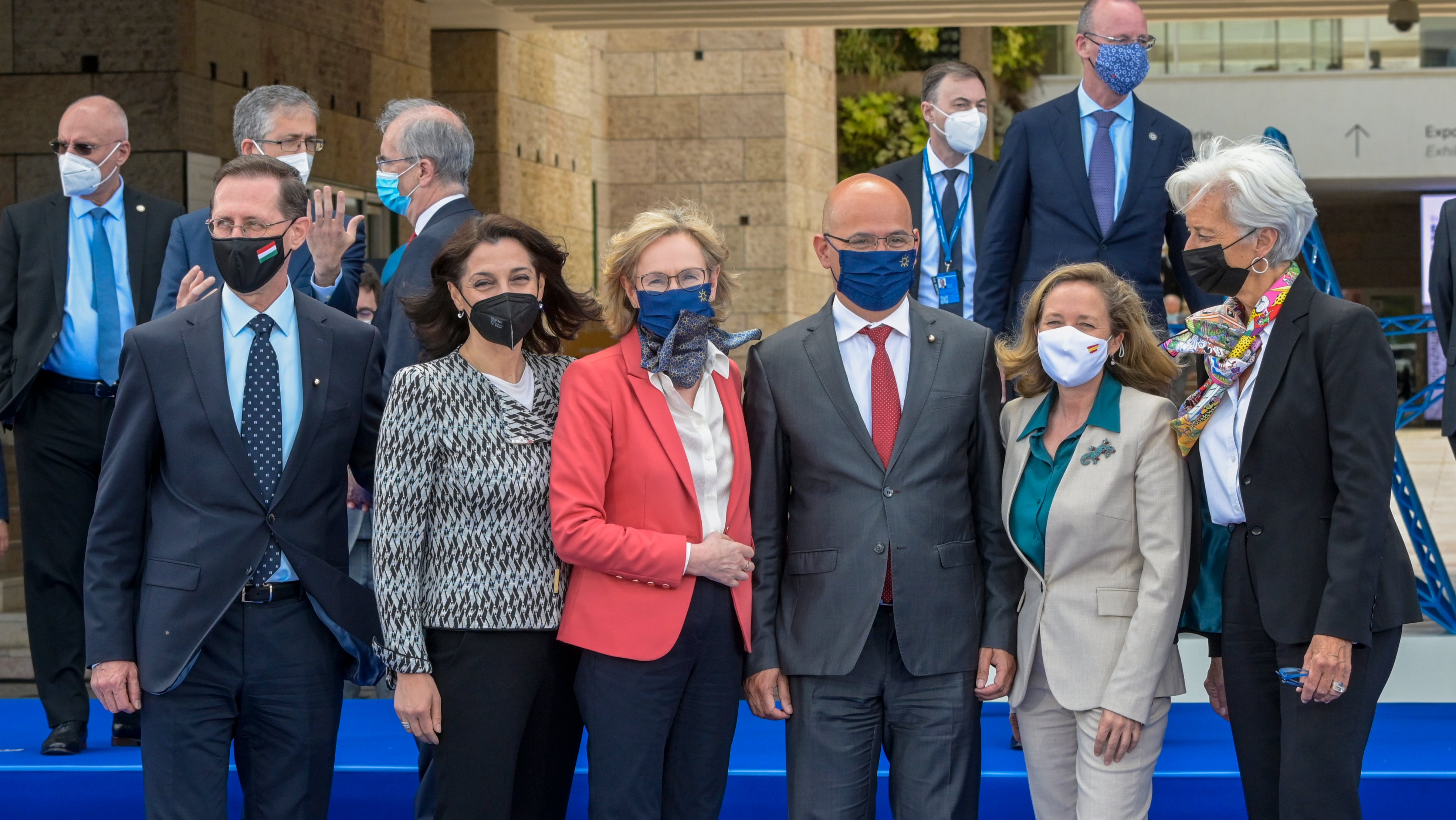 Meeting Of Eurogroup Finance Ministers In Lisbon