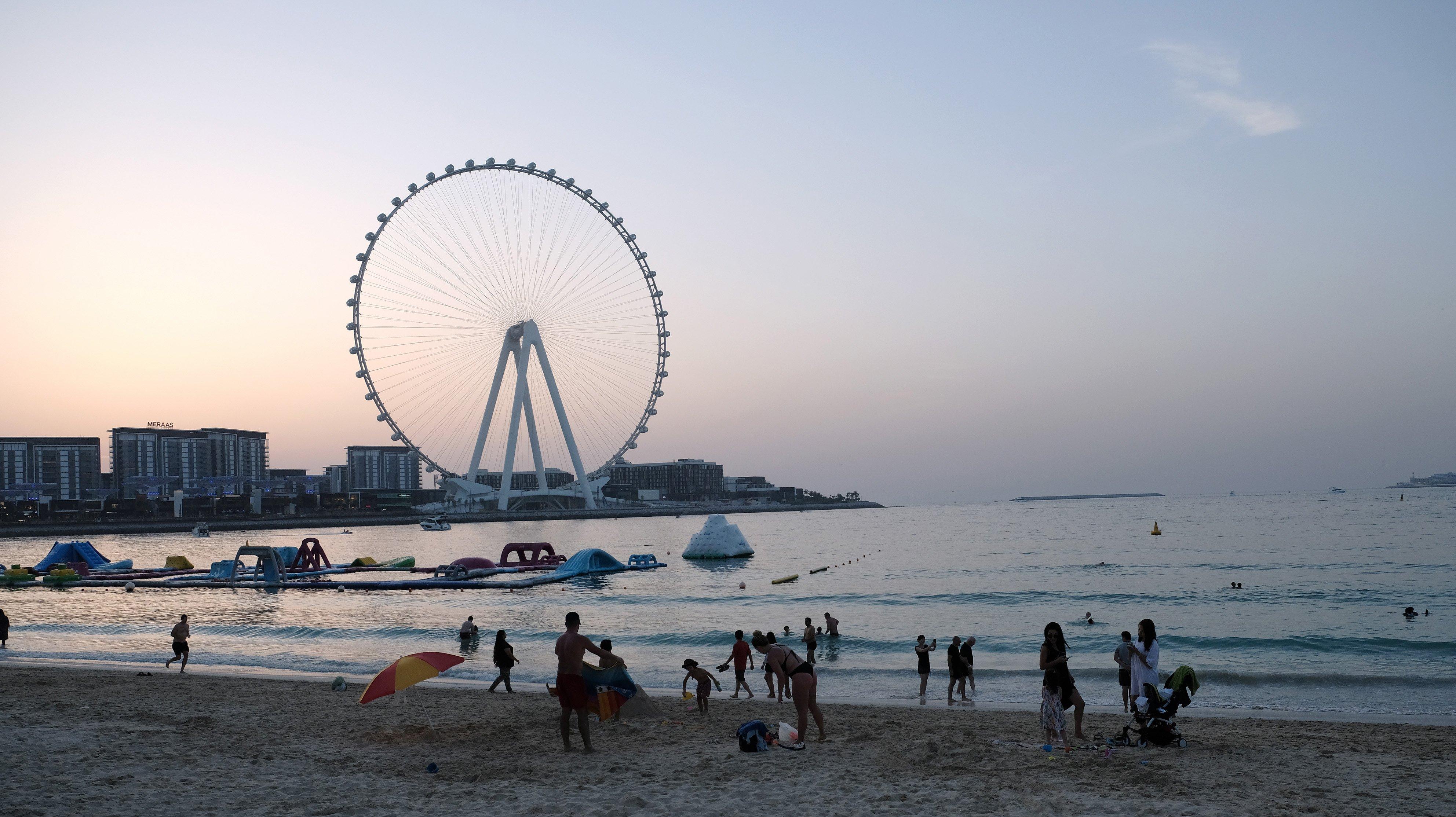 In Dubai, in Pandemic Times