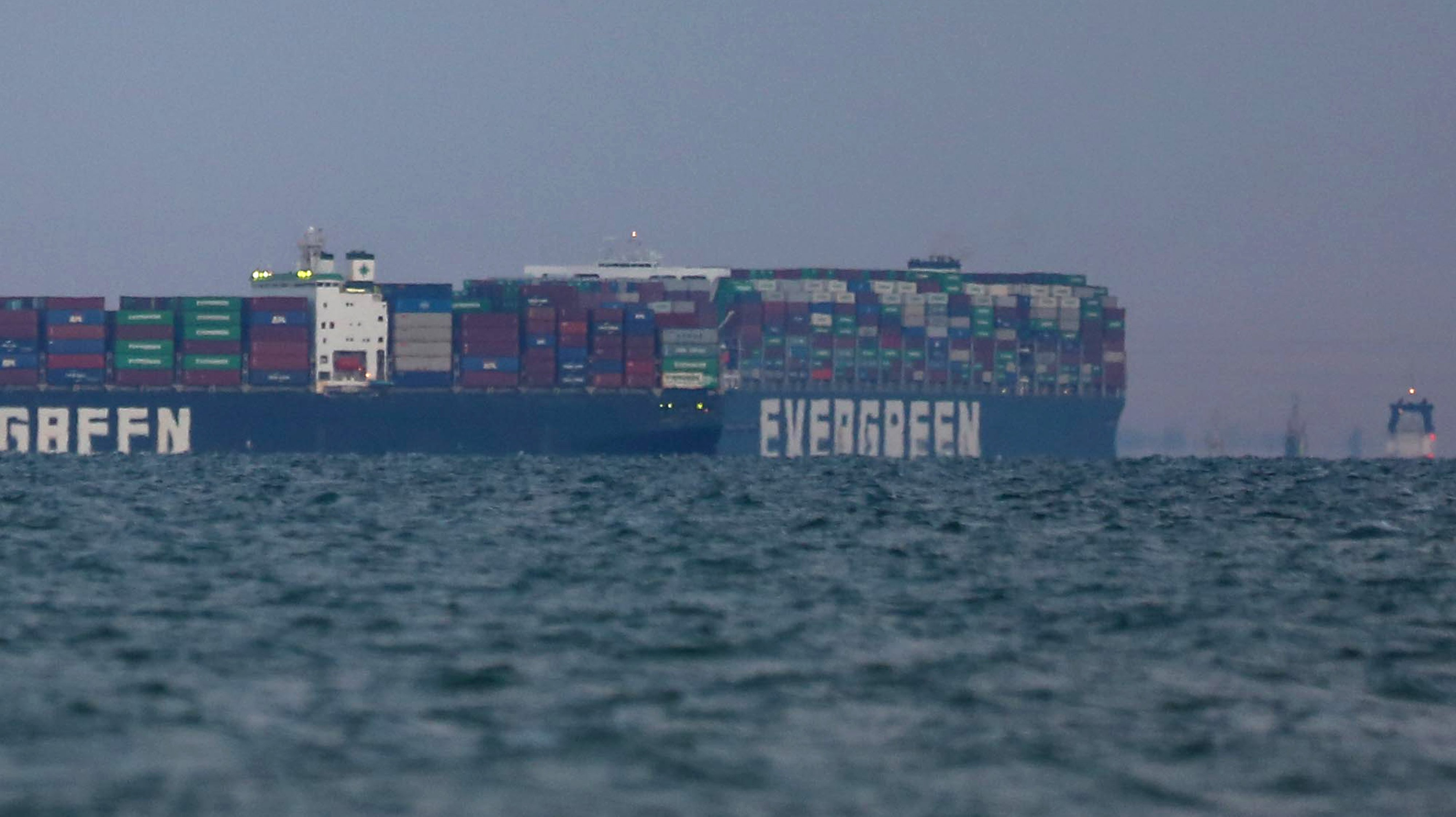 Suez Ship Is Refloated in First Step to Clearing Canal