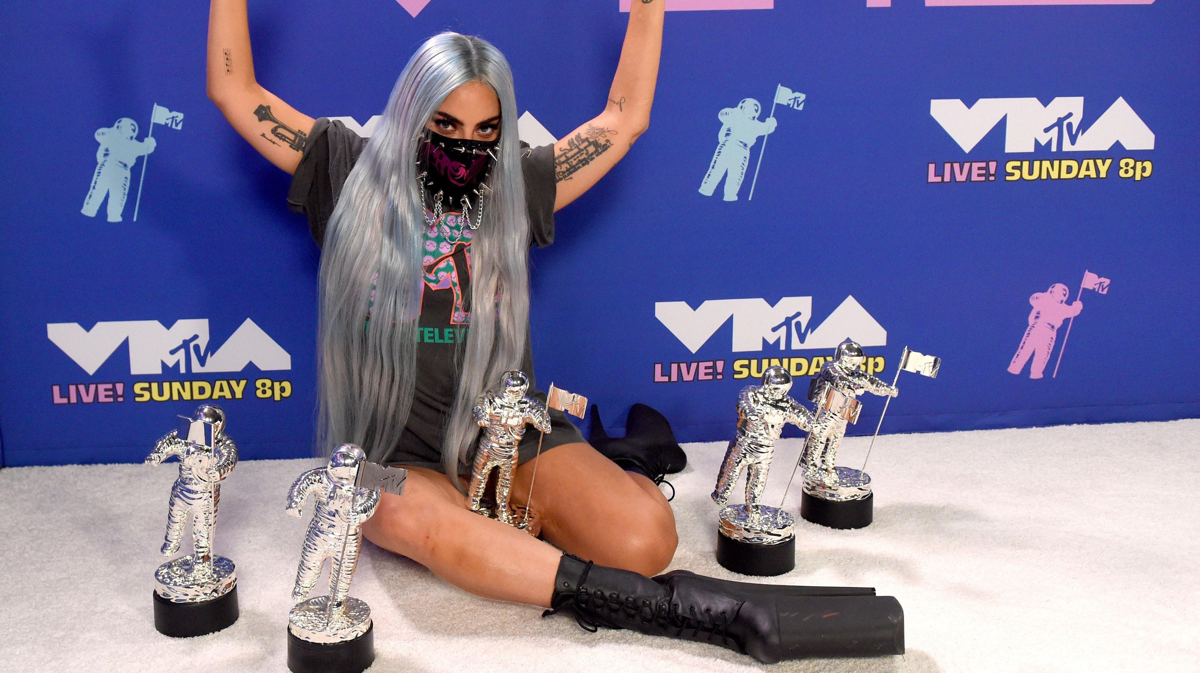 2020 MTV Video Music Awards - Winner's Room