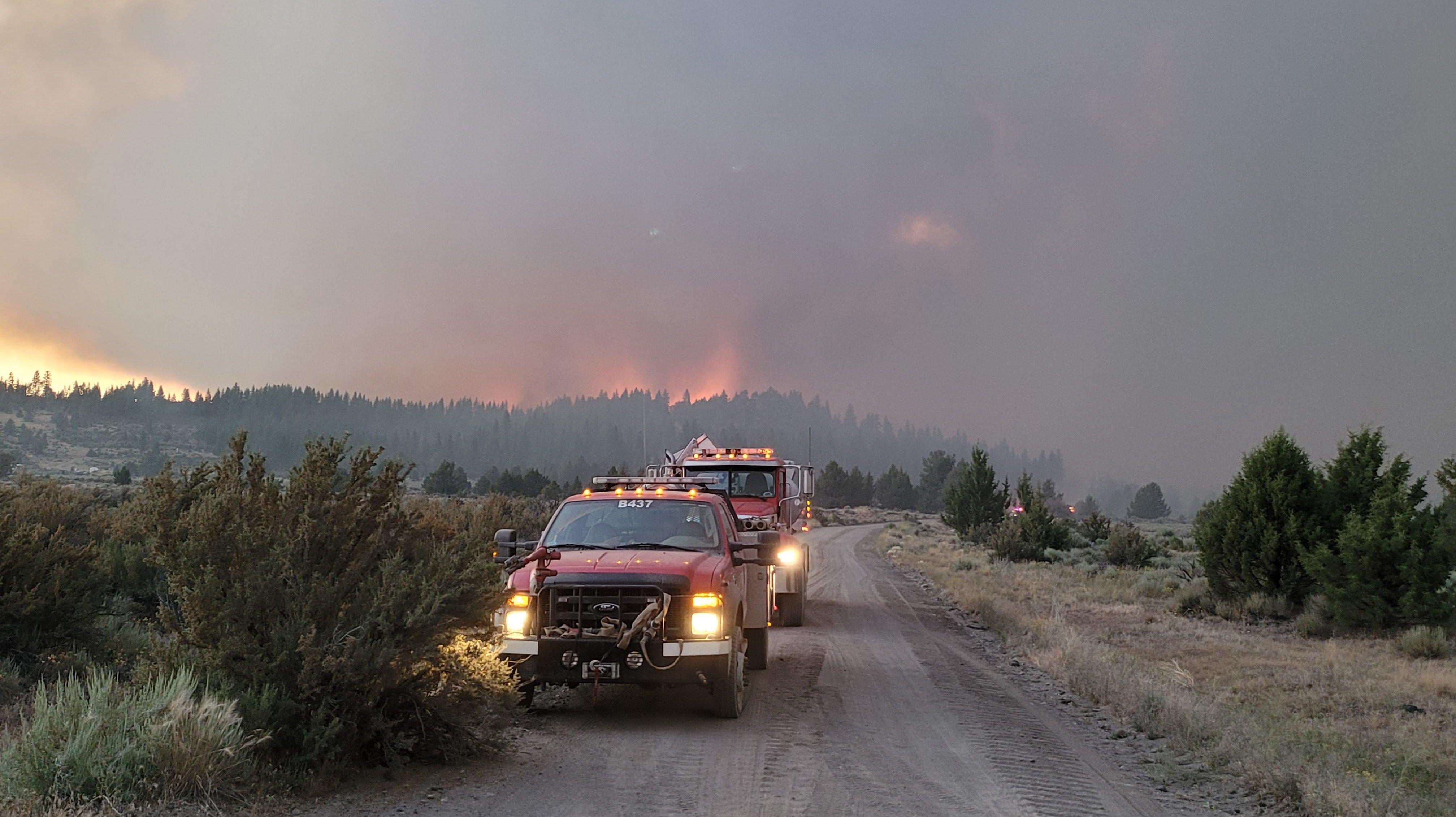Multiple Wildfires Burn In Oregon