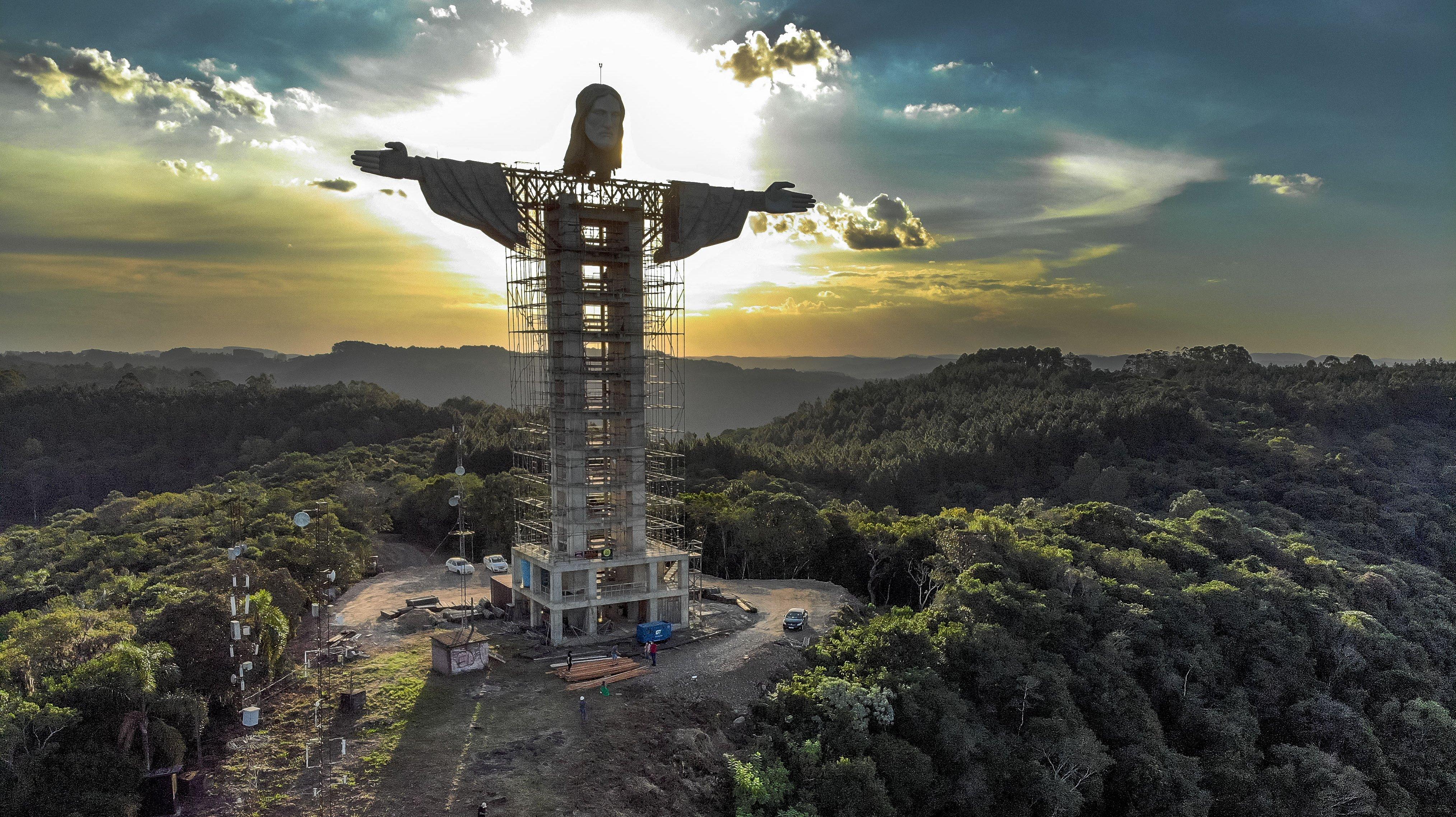 BRAZIL-RELIGION-CULTURE-CHRIST-STATUE