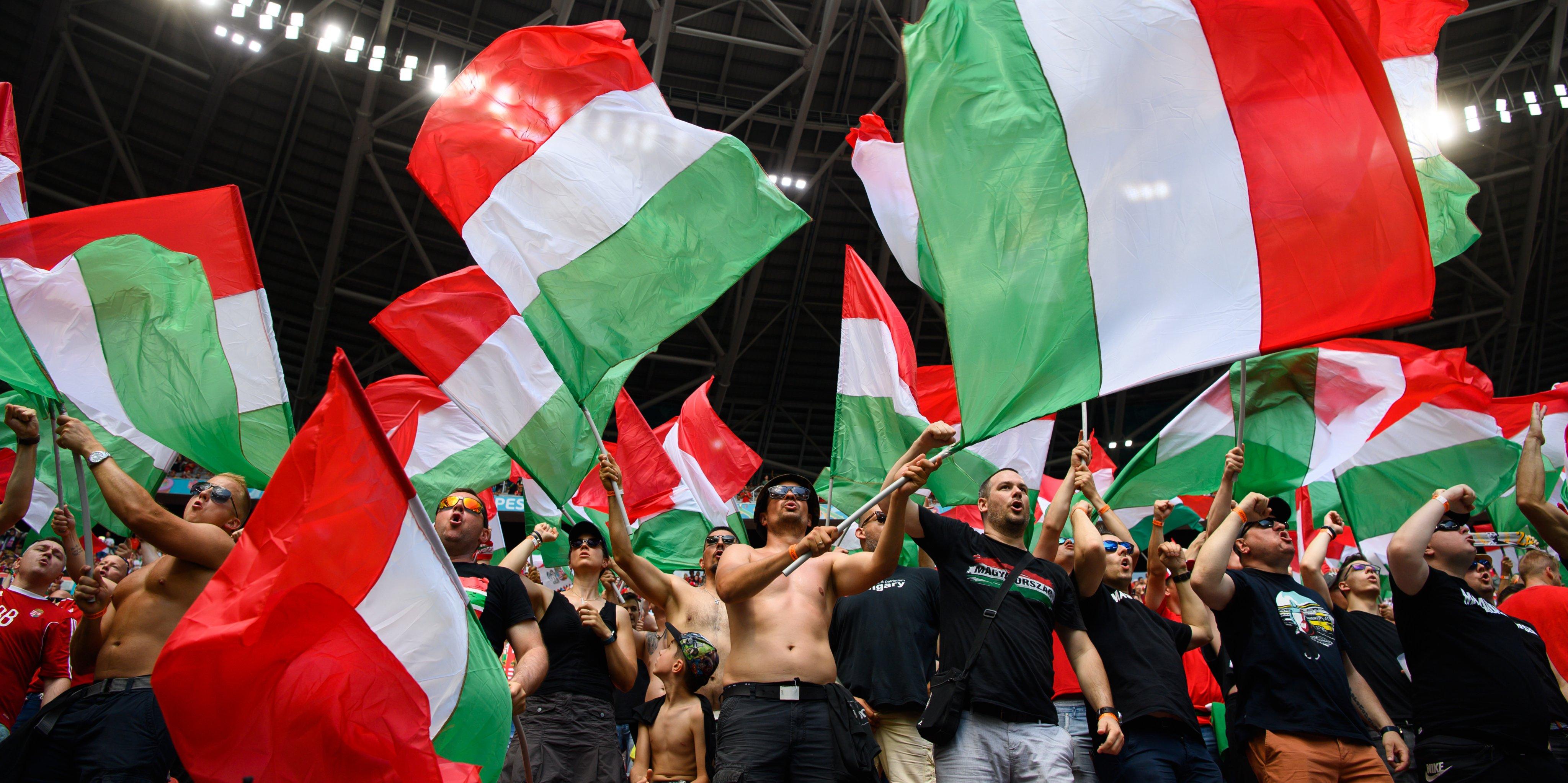 European Football Championship - Hungary - France