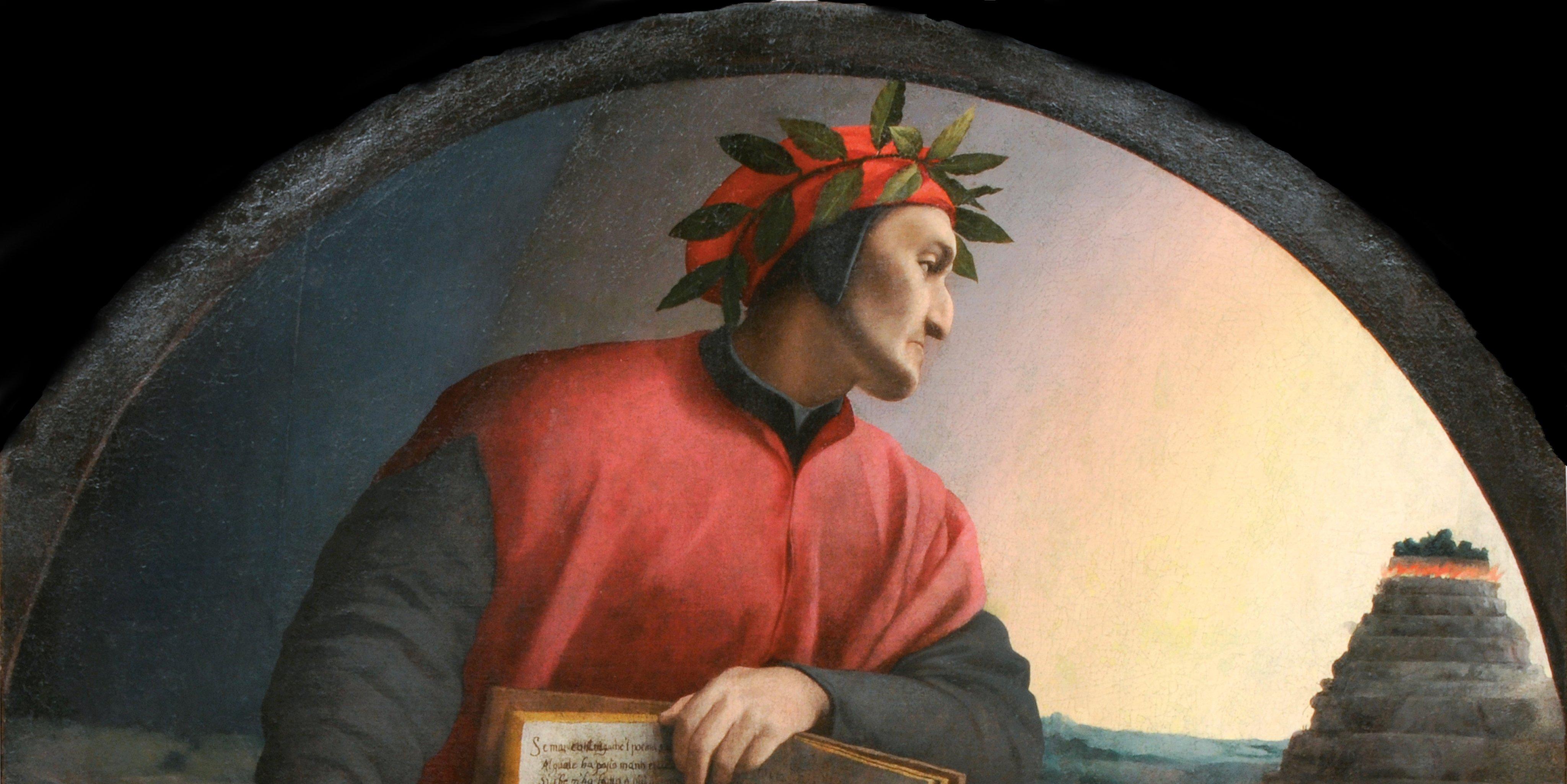 Portrait Of Dante Alighieri (1265-1321)
