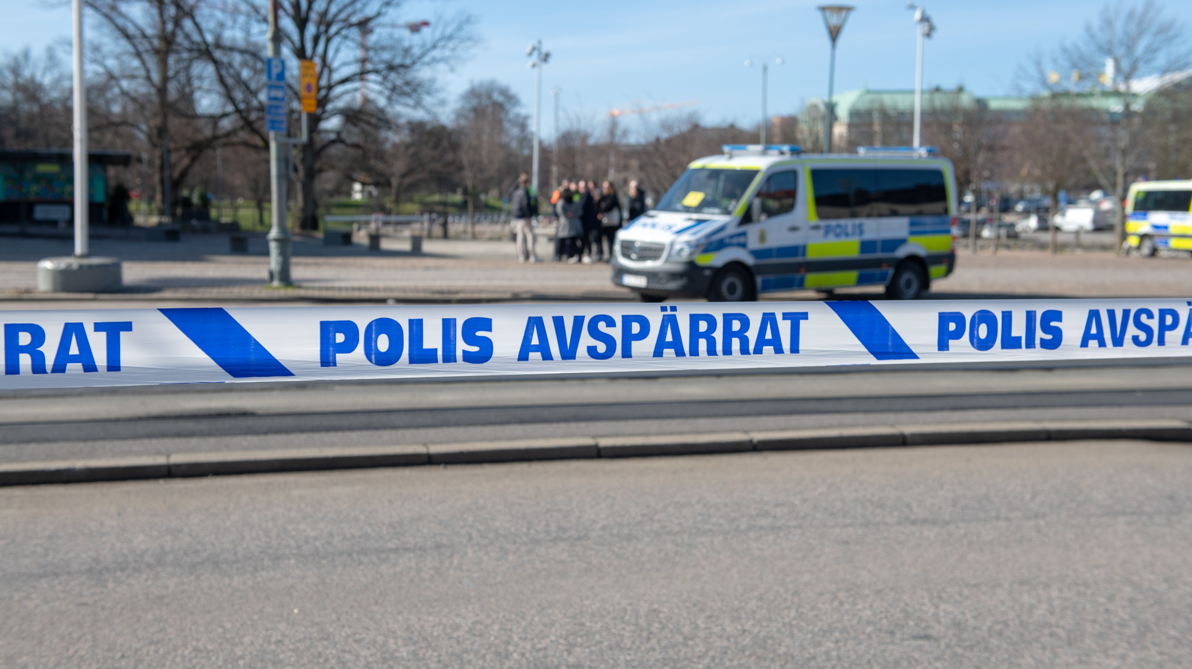 Alternative For Sweden Holds A Rally And Anti Fascist Groups Hold A Counter Protest