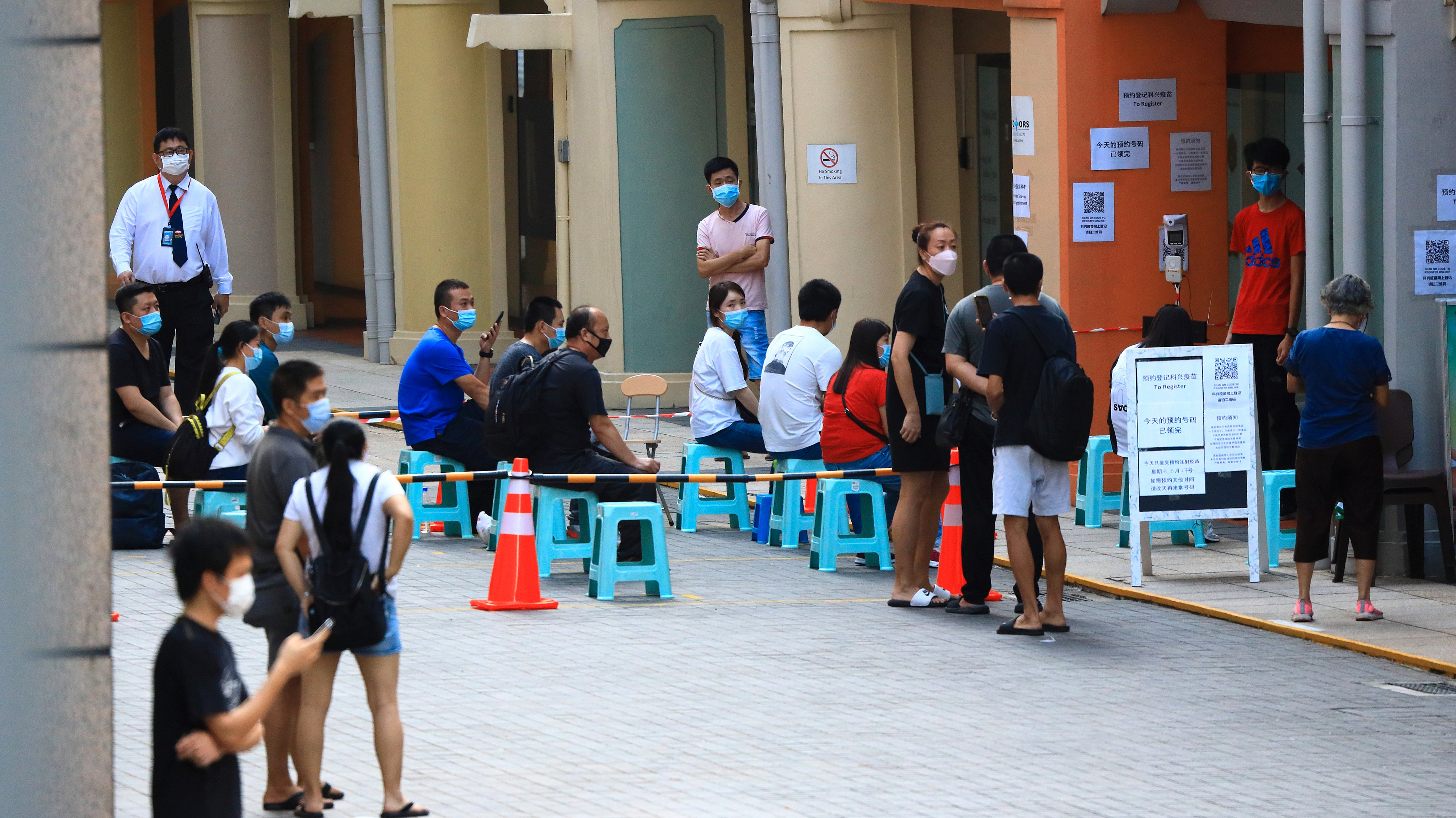 Daily Life Amid Singapore Heightened Alert For COVID-19