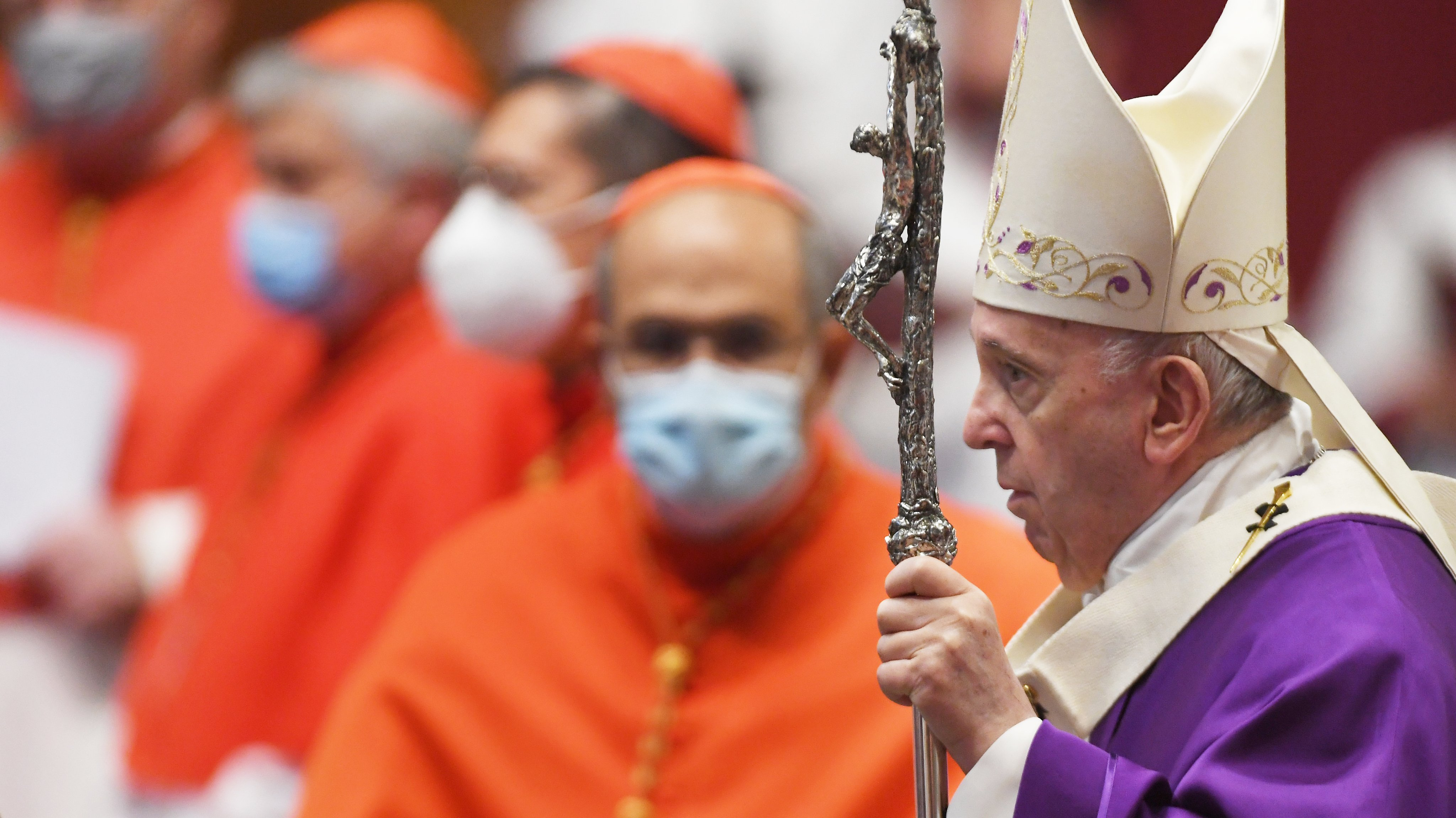 Eucharistic Celebration With New Cardinals