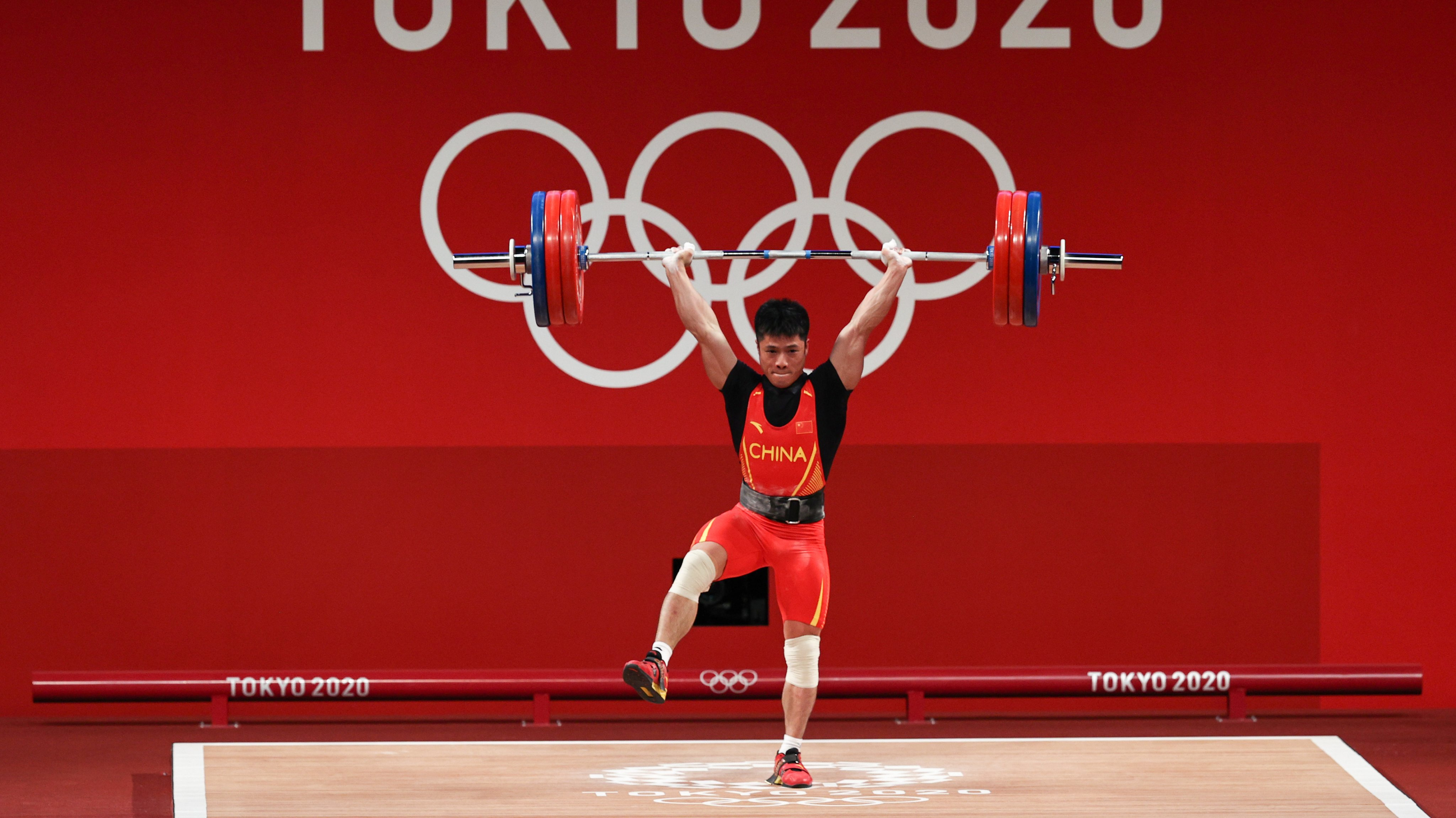 Weightlifting - Olympics: Day 2