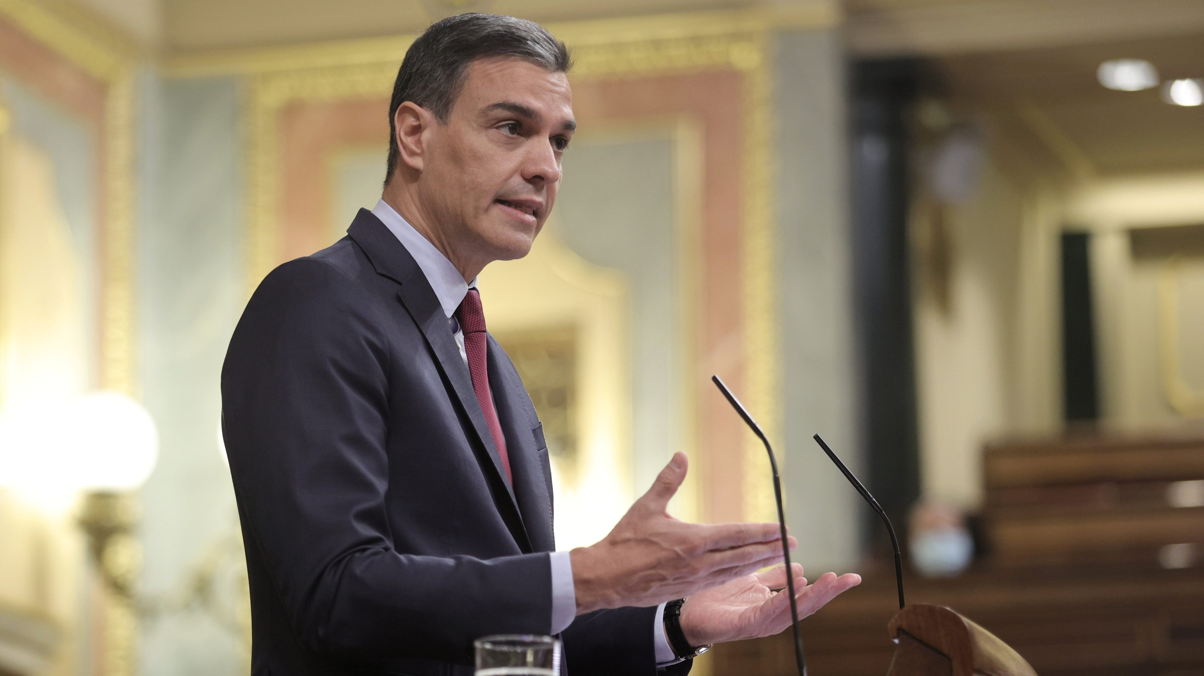 The President Of The Government Justifies The Pardons Of The 'proces' In The Session Of Control In Congress