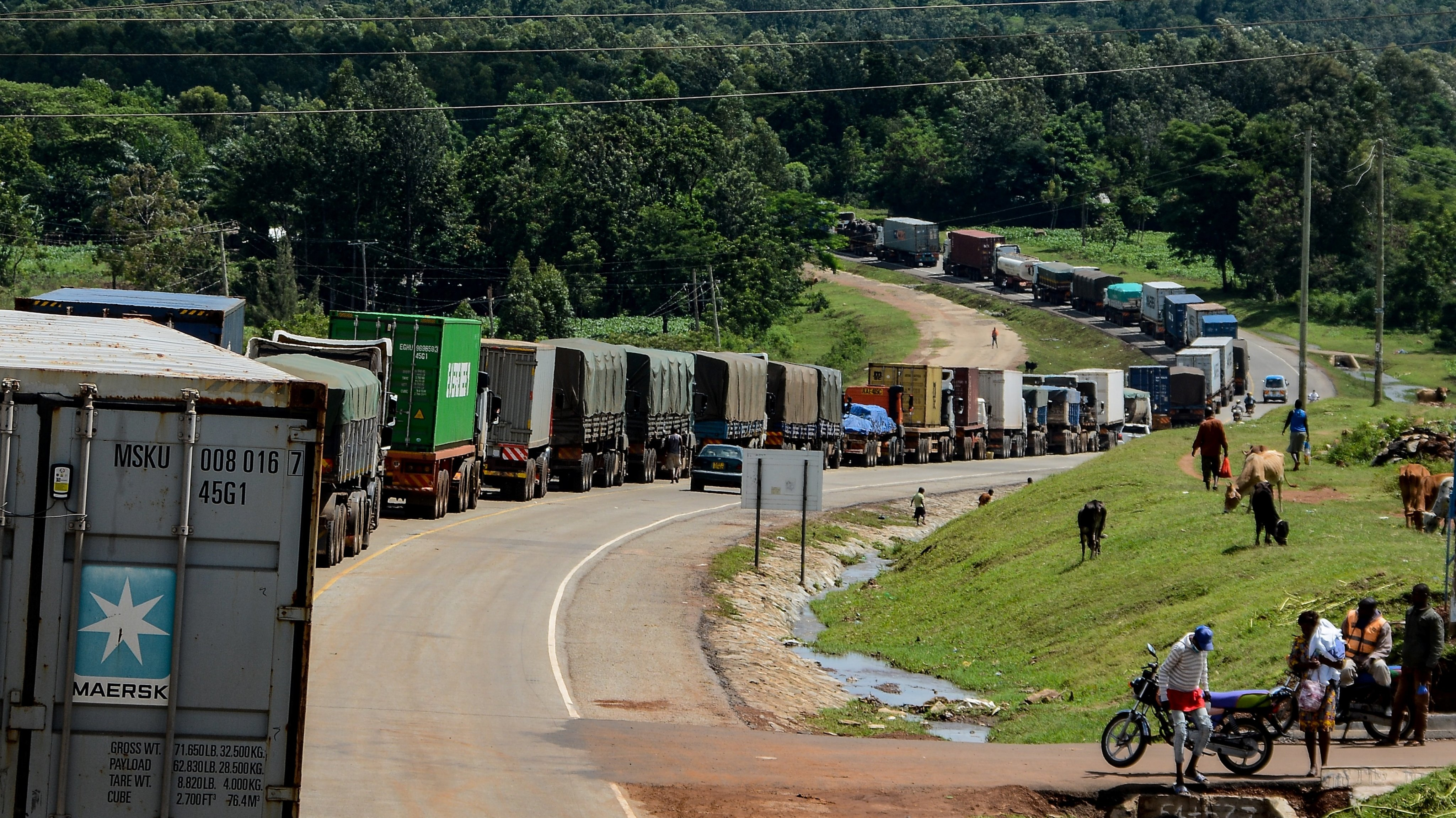 KENYA-UGANDA-HEALTH-VIRUS-TRANSPORT