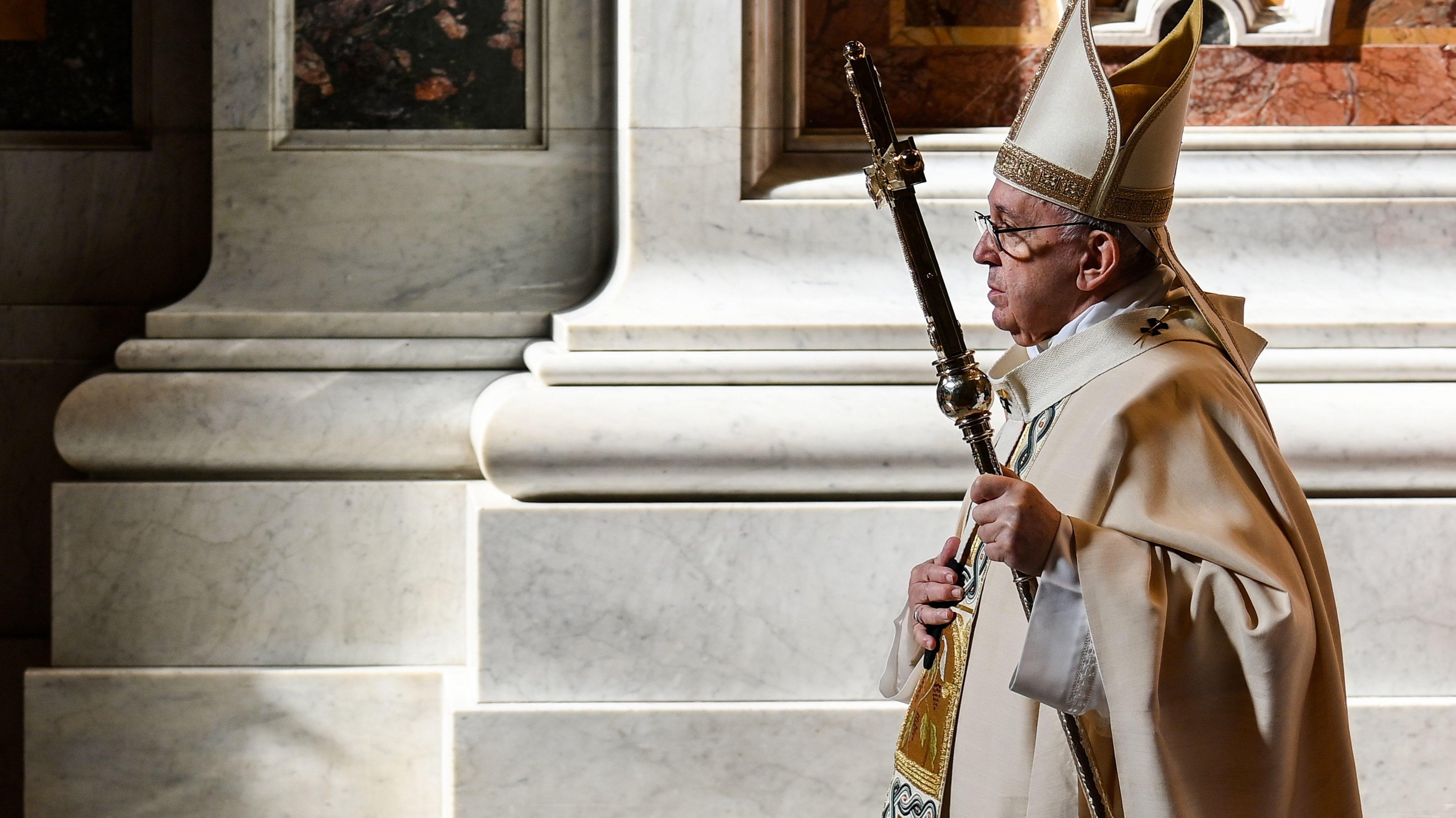 VATICAN-RELIGION-POPE-WORLD-YOUTH-DAY-MASS-HEALTH-VIRUS