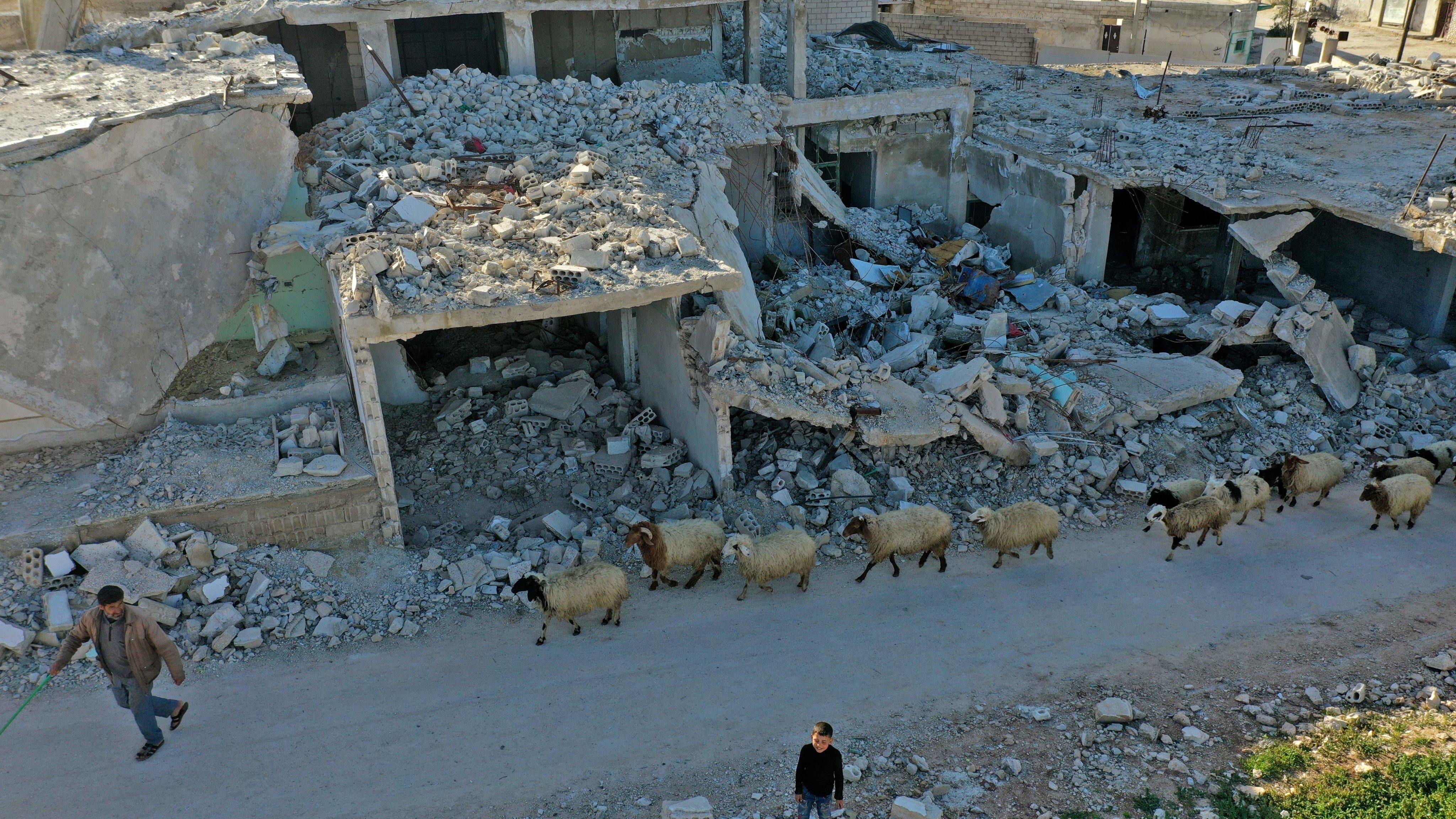 SYRIA-ARAB-REVOLUTION-ANNIVERSARY