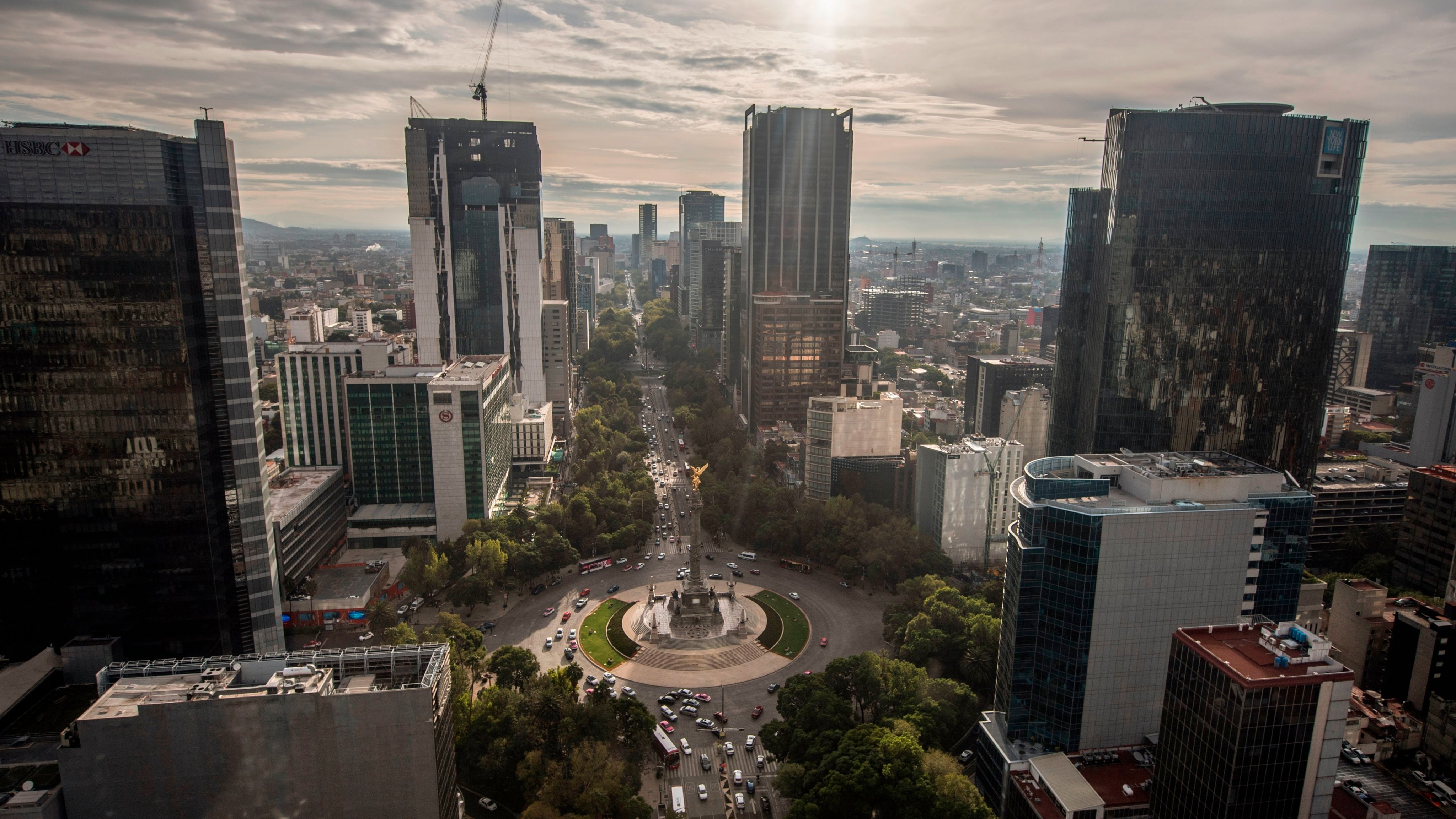MEXICO-MEXICO CITY-CITY-ANGEL OF INDEPENDENCE