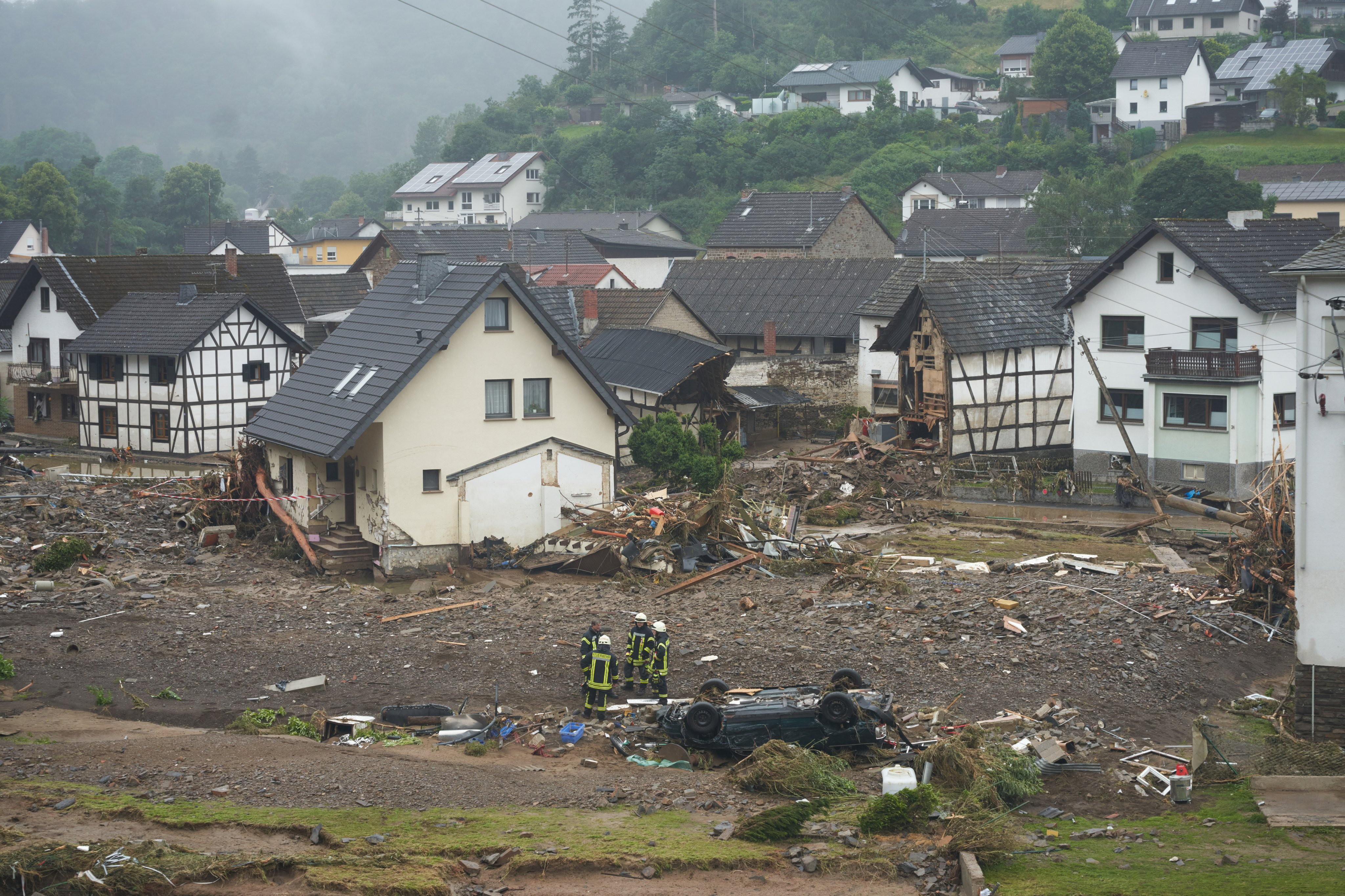 After the storm in Rhineland-Palatinate