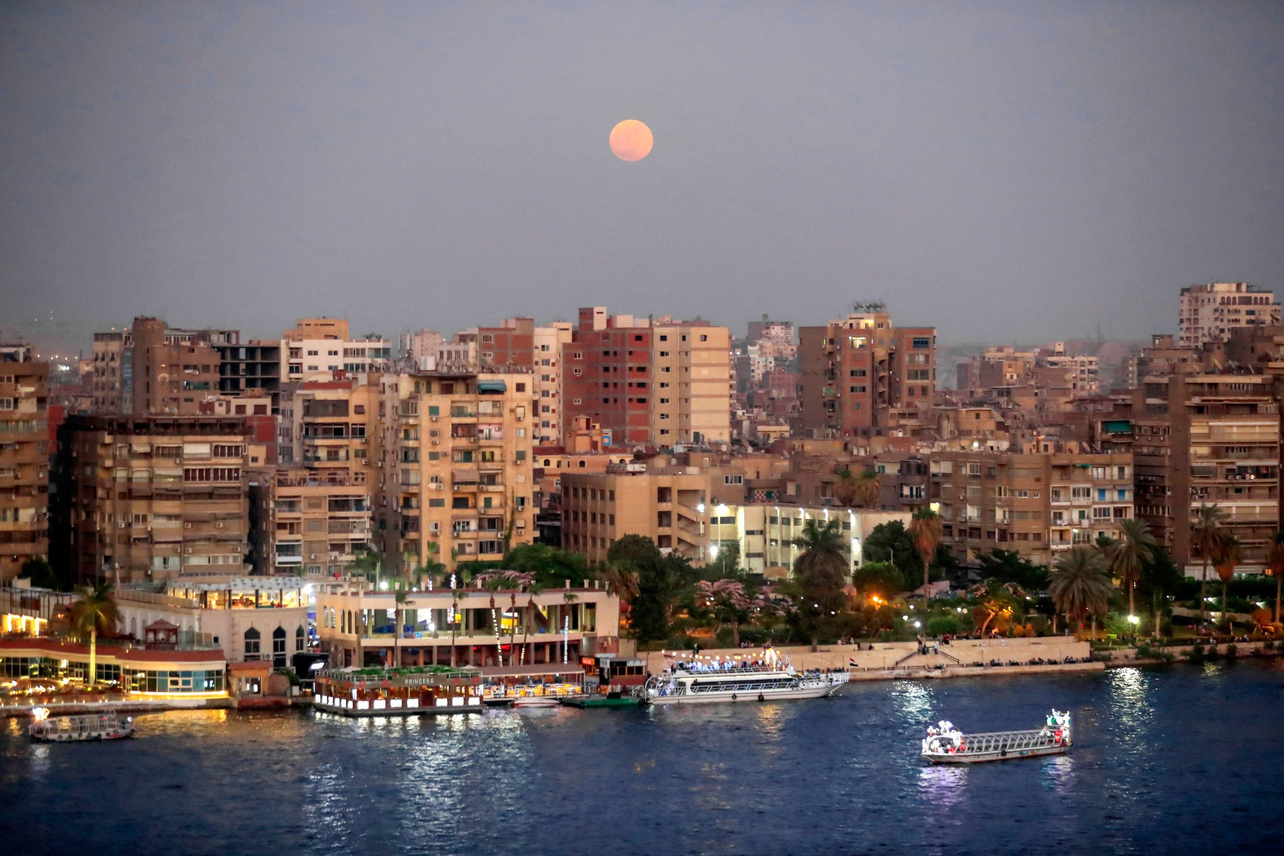 EGYPT-ASTRONOMY-MOON