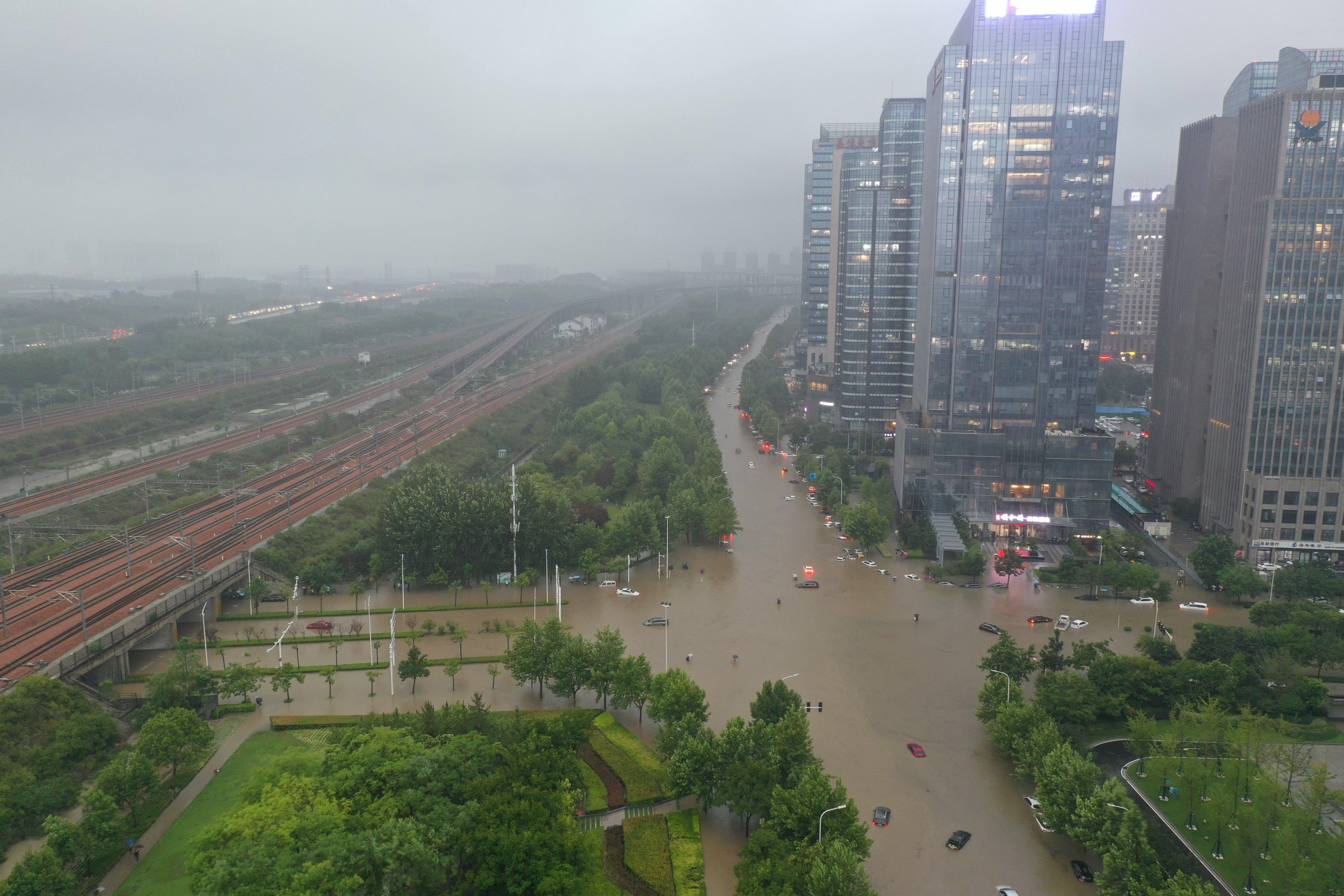 Torrential Rains Hit Henan