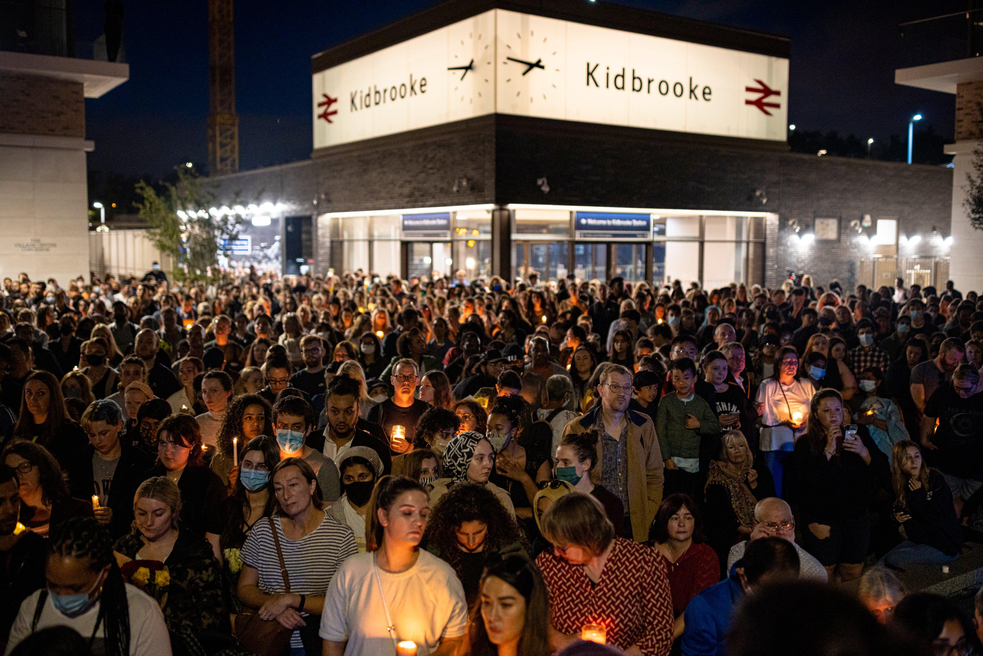 Vigil Is Held For Murdered Teacher Sabina Nessa