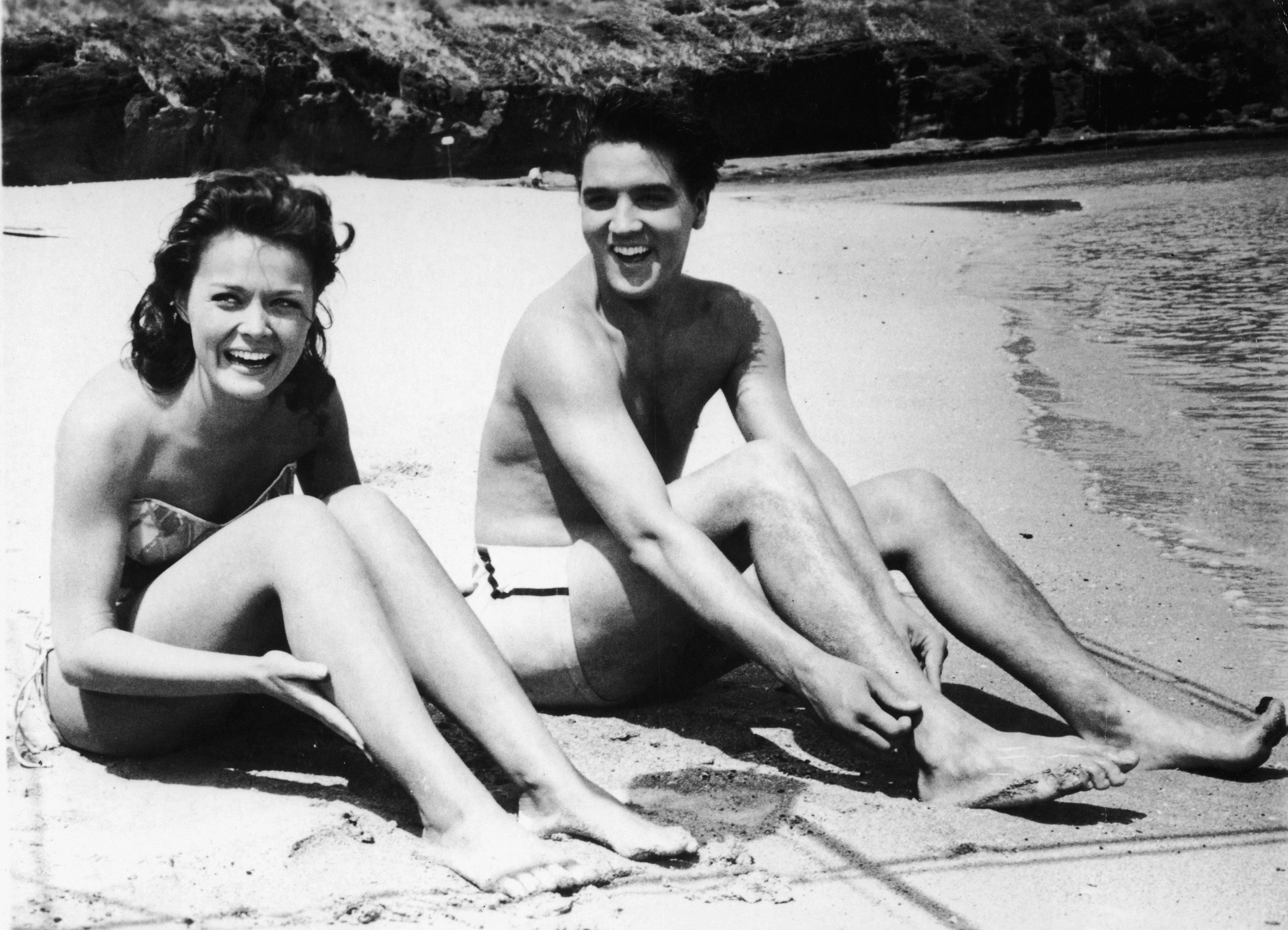 Presley & Blackman In 'Blue Hawaii'