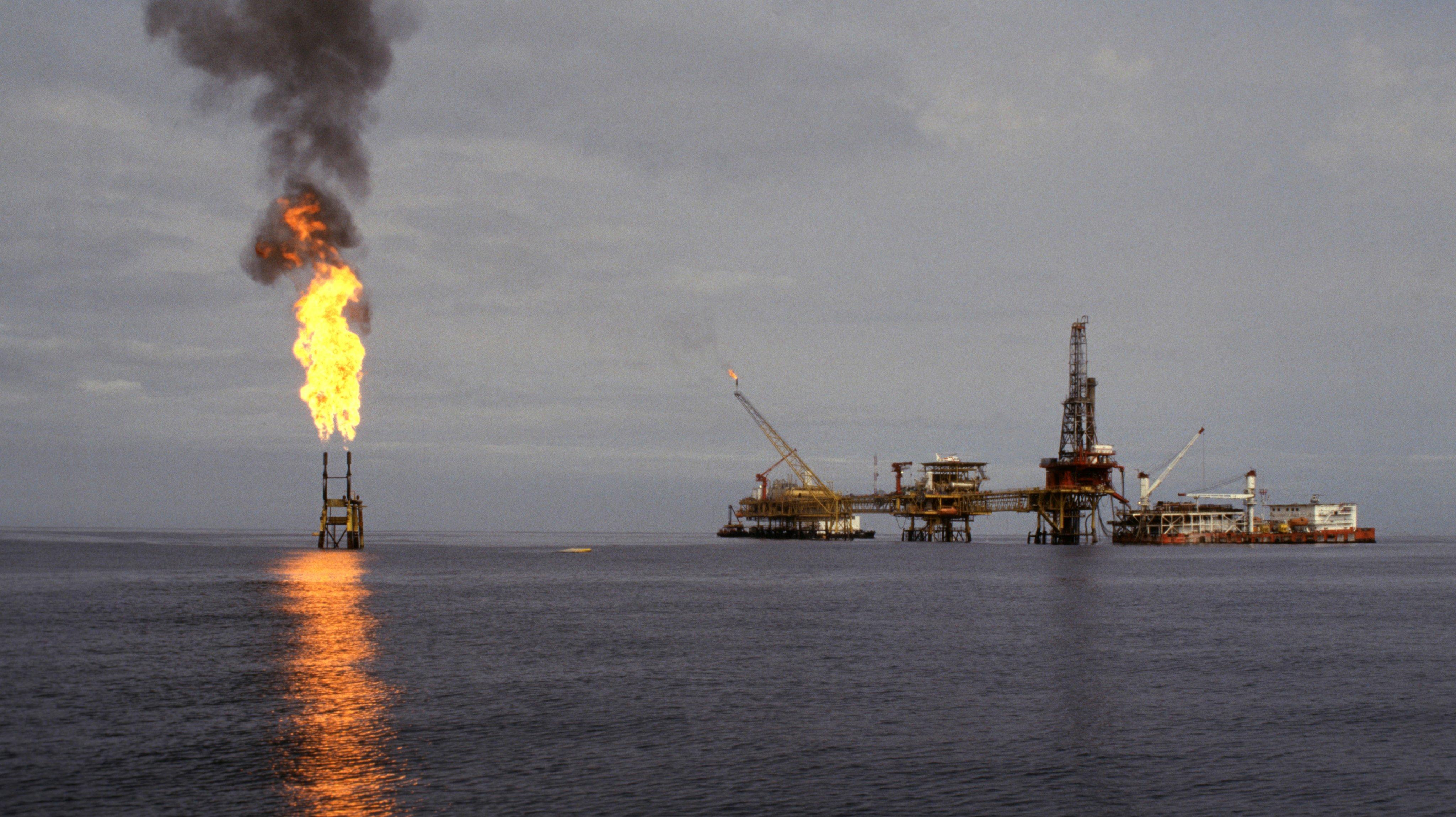 Gisement de pétrole de Palanka en Angola