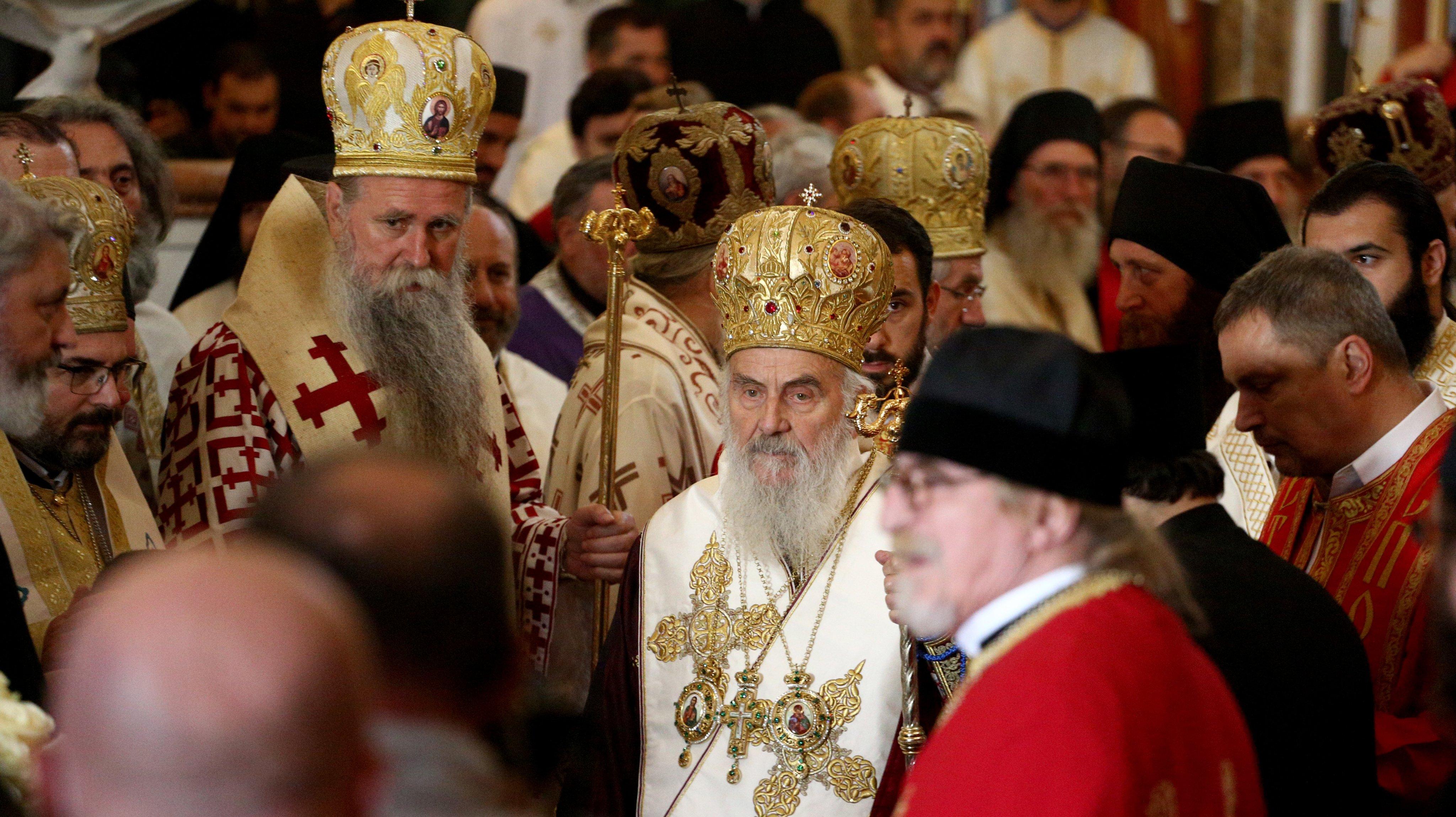 Funeral Of Montenegro's Senior Orthodox Cleric