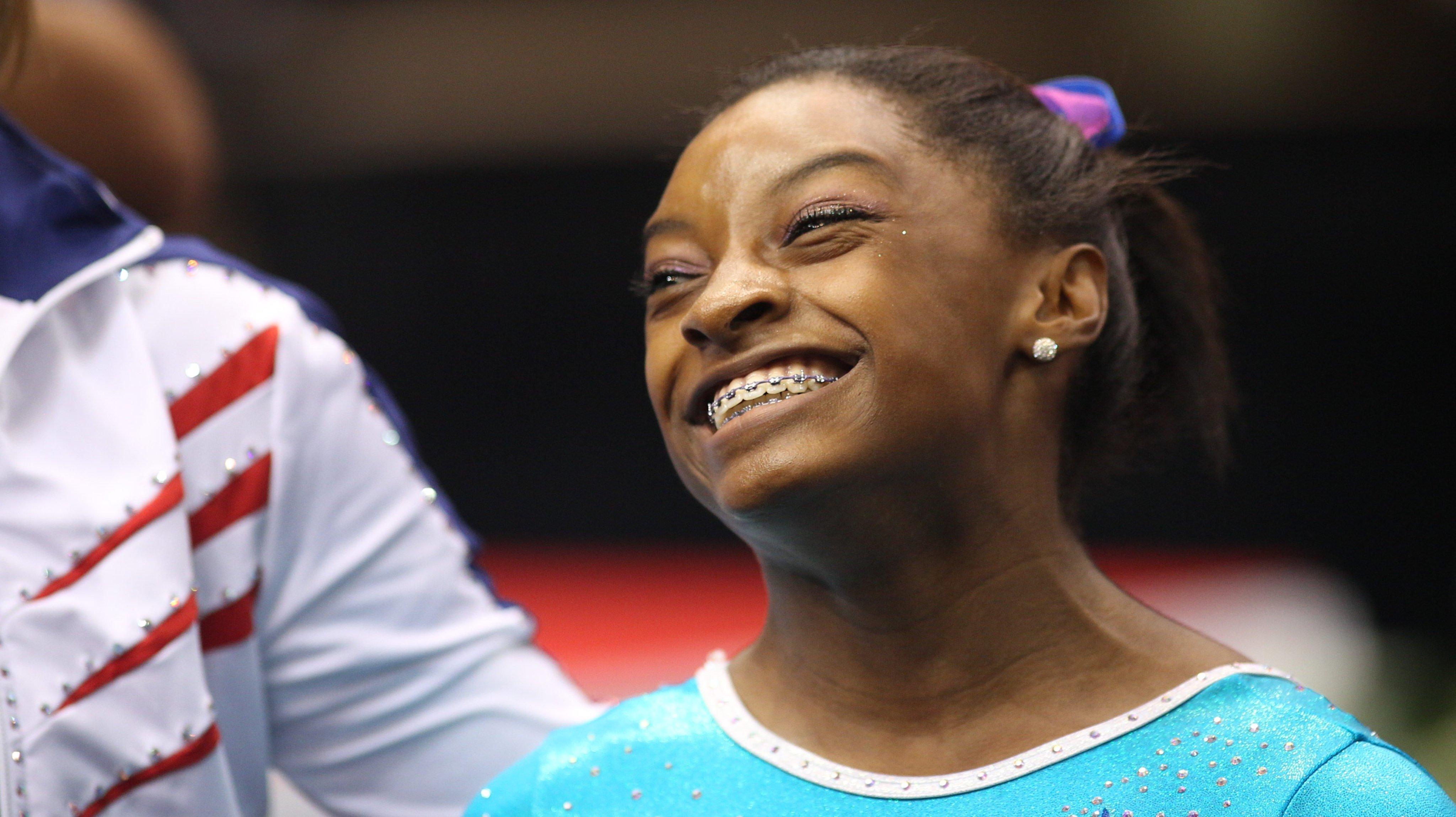 The 2013 P&G Gymnastics Championships, USA Gymnastics National Championships.