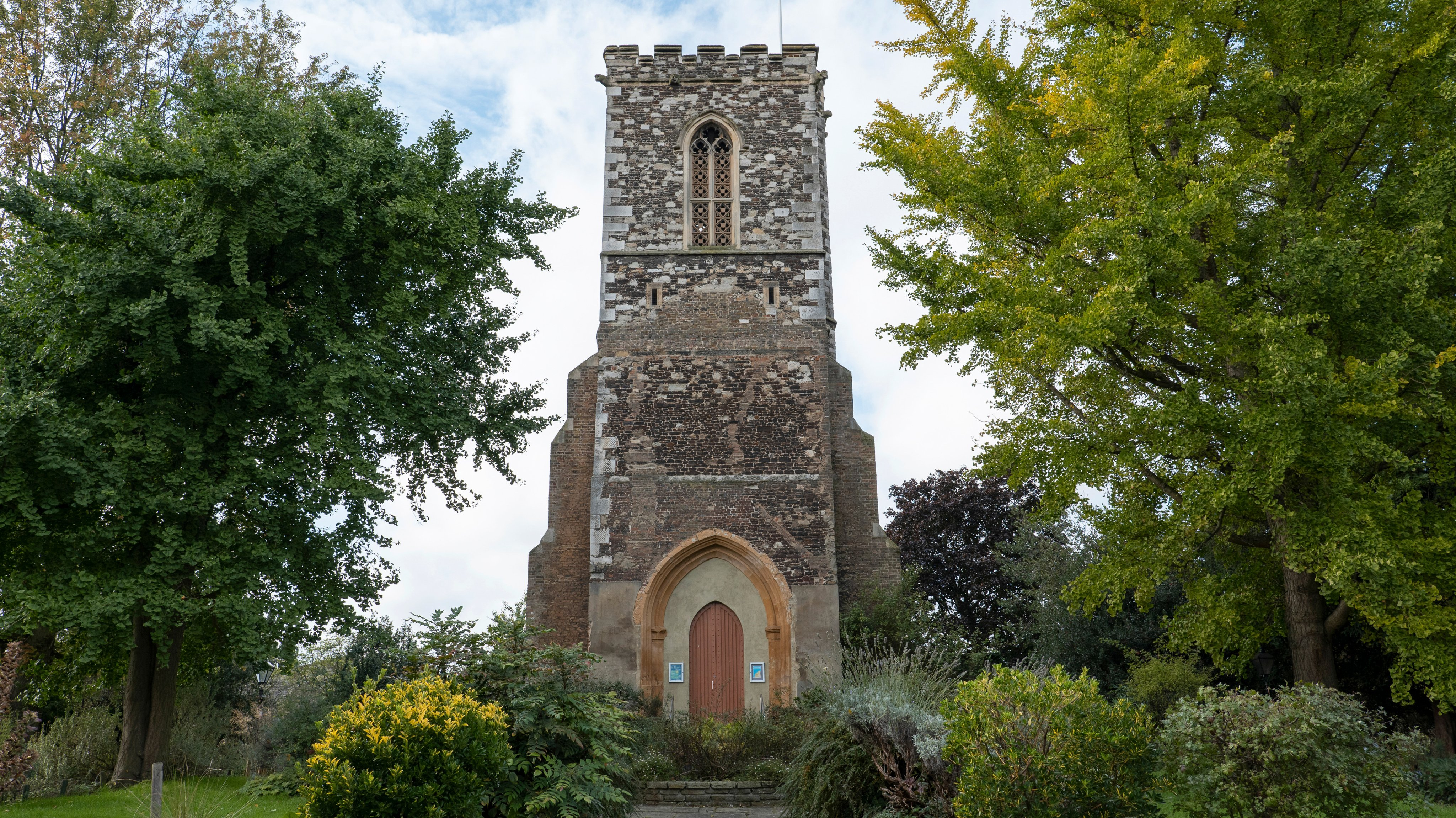 Tower Of St Marys Church In Hornsey North London
