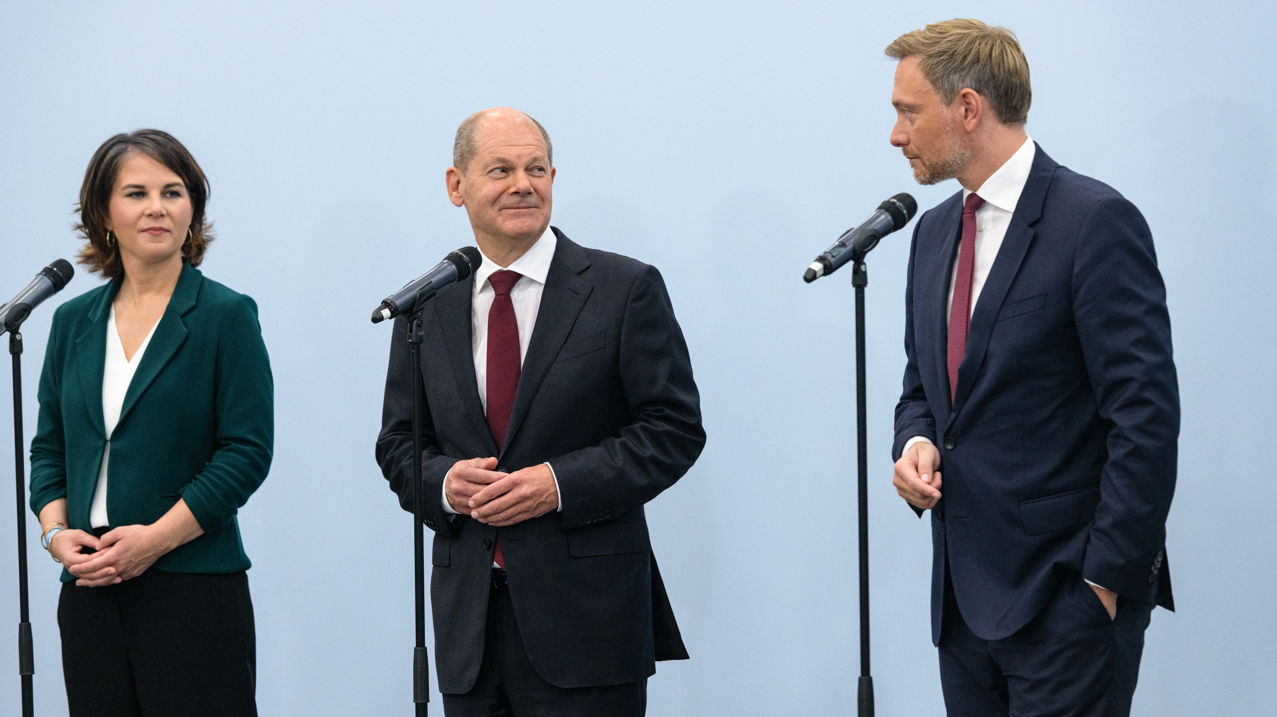 SPD, Greens And FDP To Conclude Exploratory Talks, Possibly Announce Coalition Intent