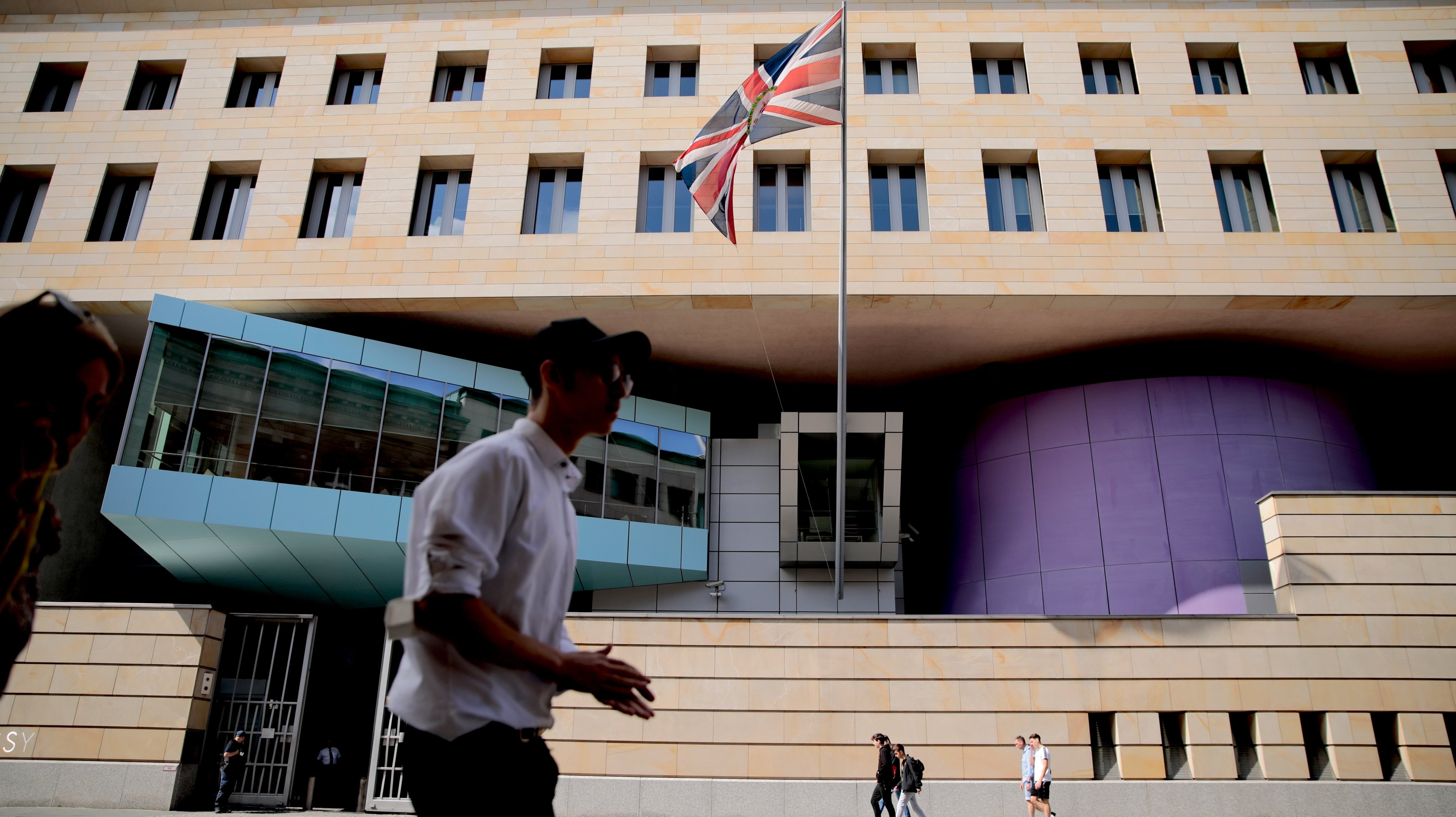 British Embassy Employee Arrested On Spying Charge