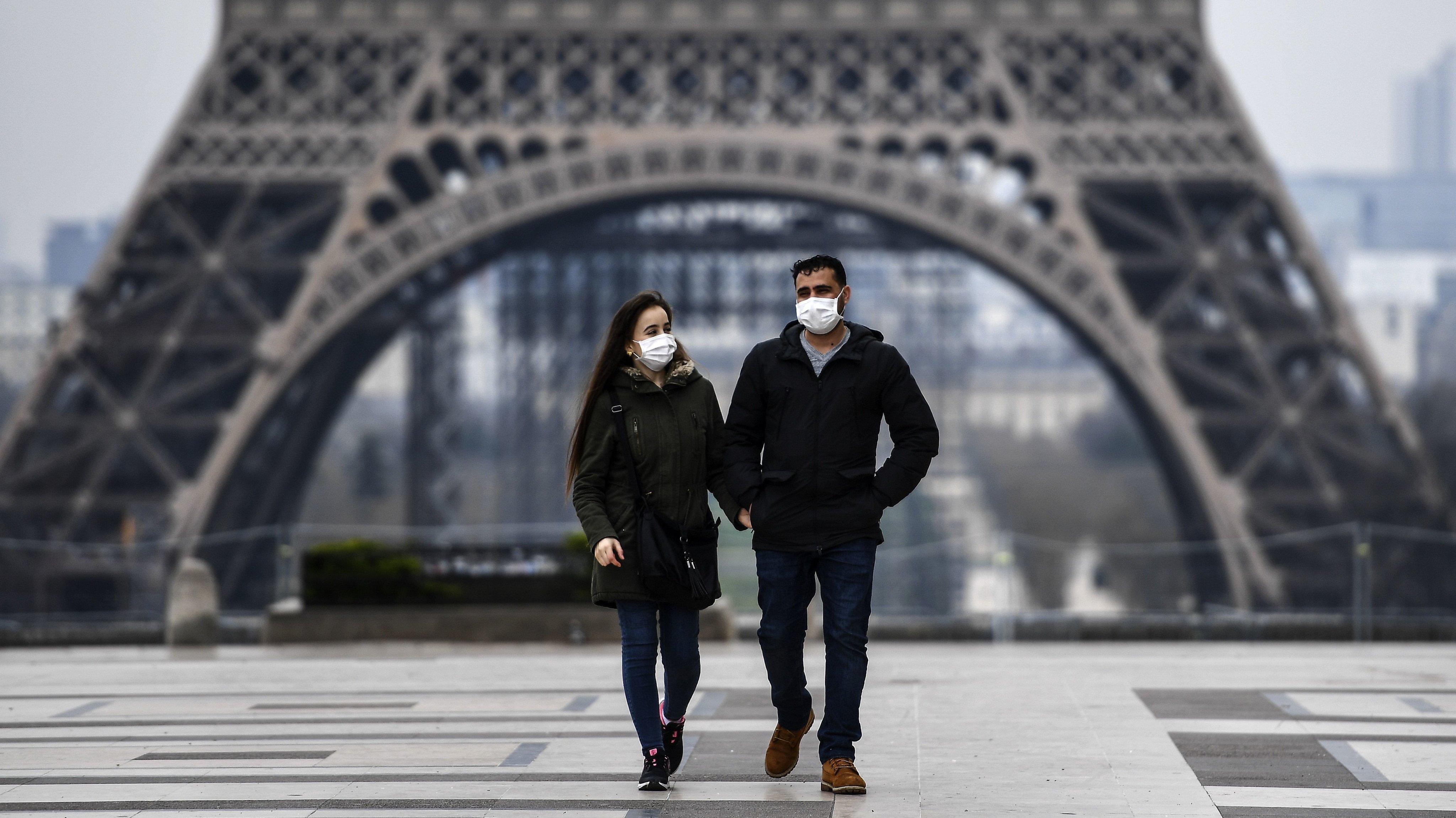 FRANCE-HEALTH-VIRUS