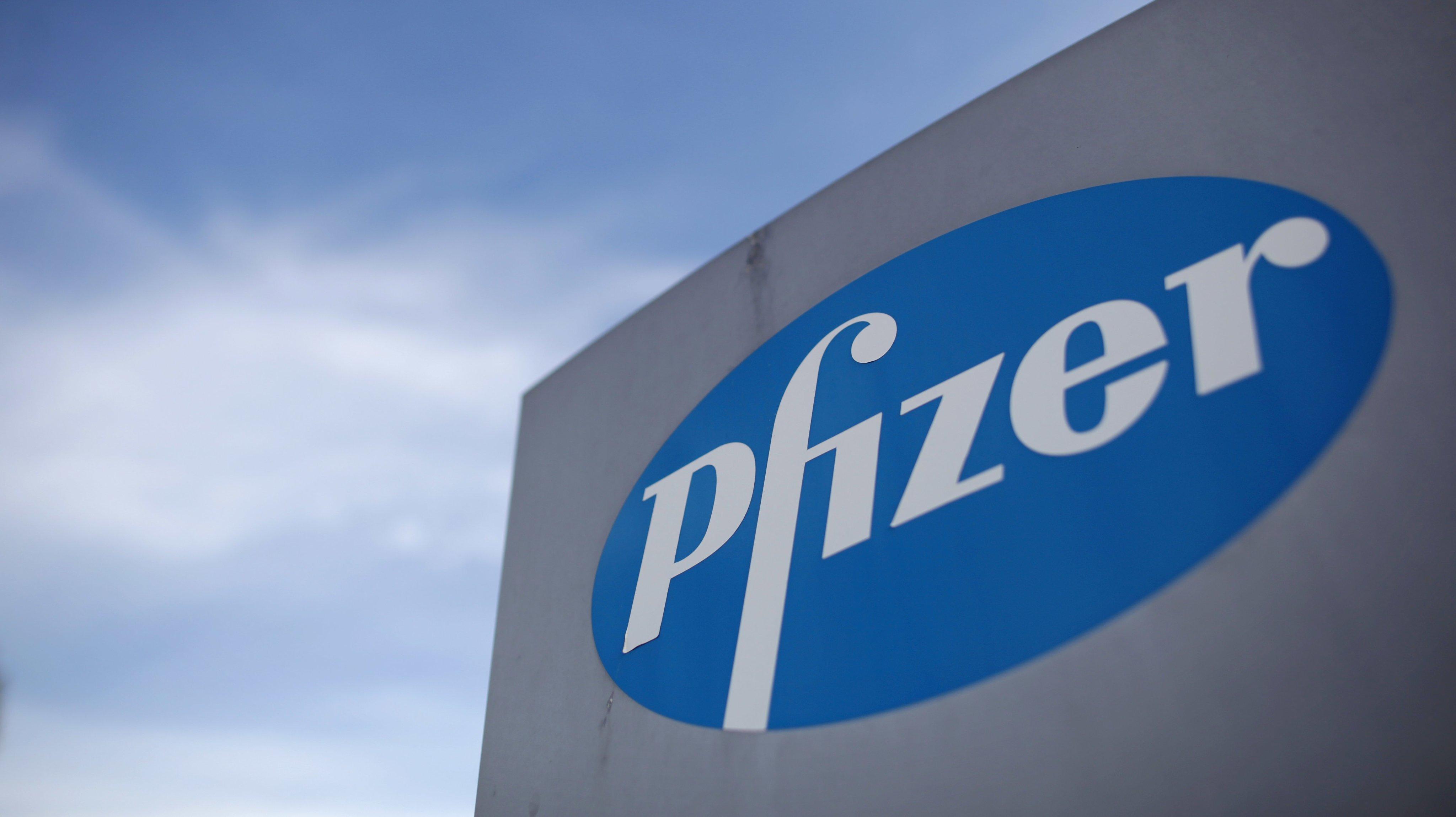 Chancellor George Osborne Visits Pharmaceutical Company Pfizer