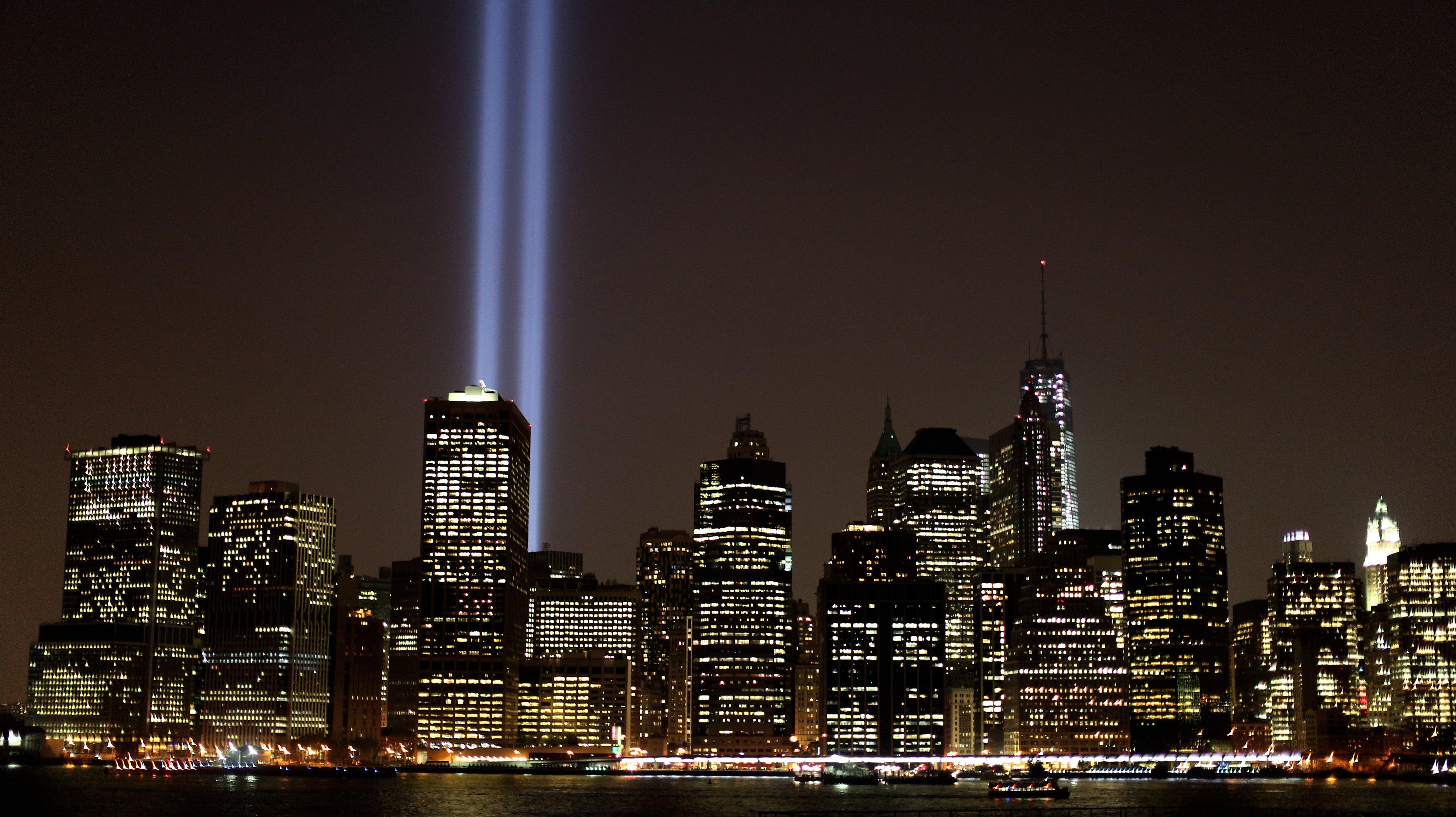 9-11 New york City Skyline
