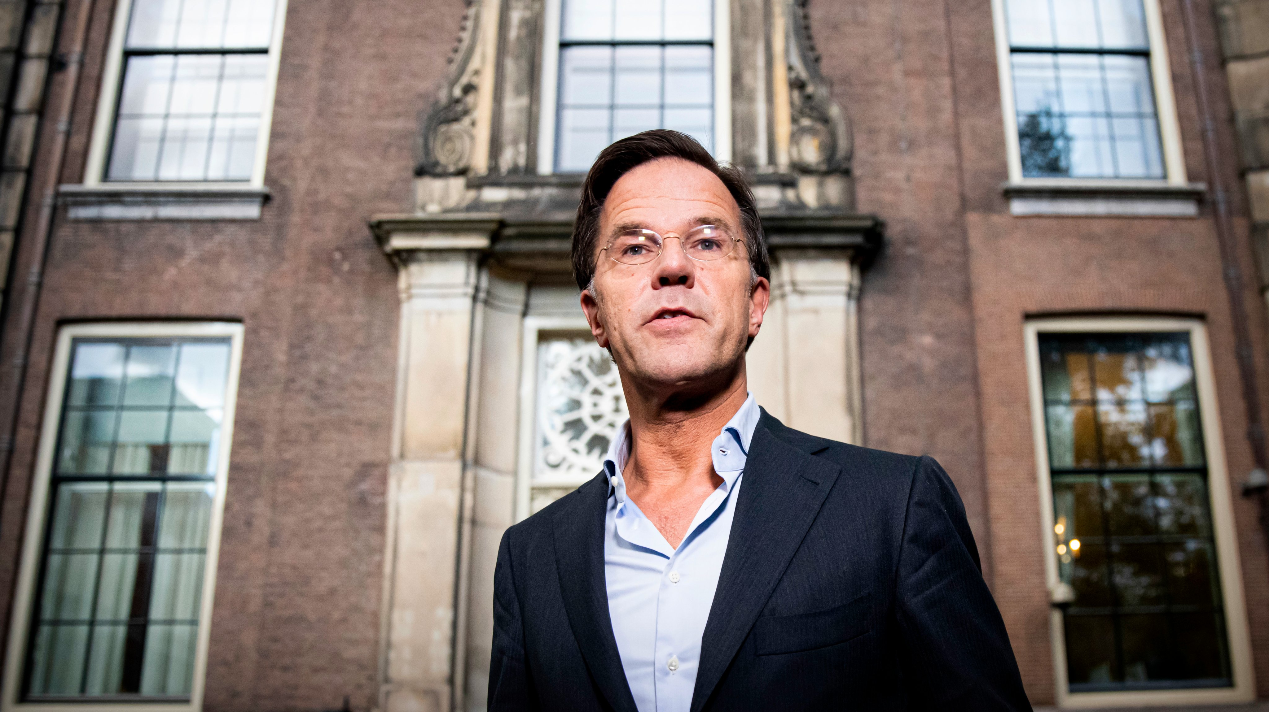 Dutch Political Party Leaders During Ultimate Formation Attempt