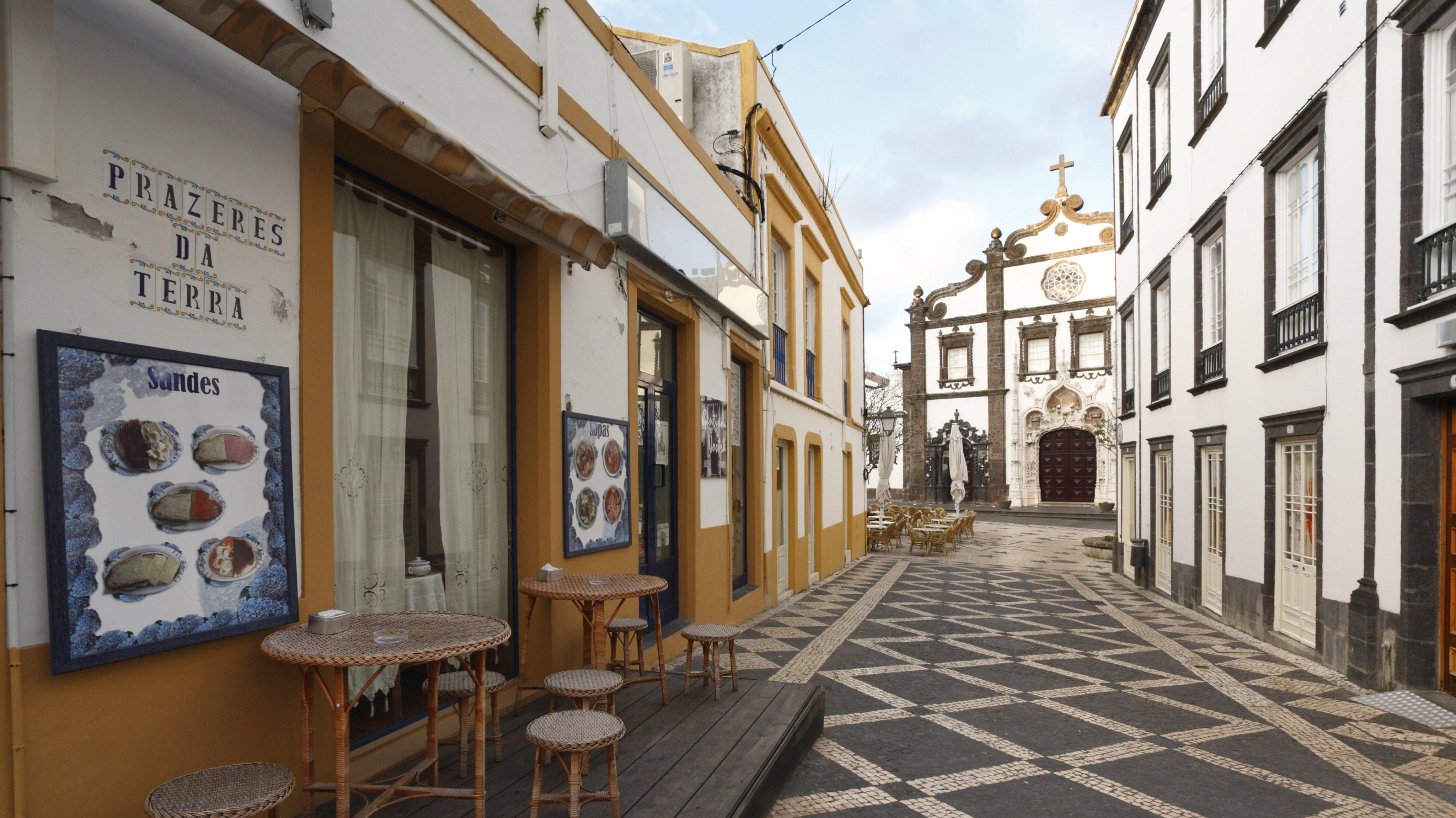 Ponta Delgada, Sao Miguel Island, Azores, Portugal.