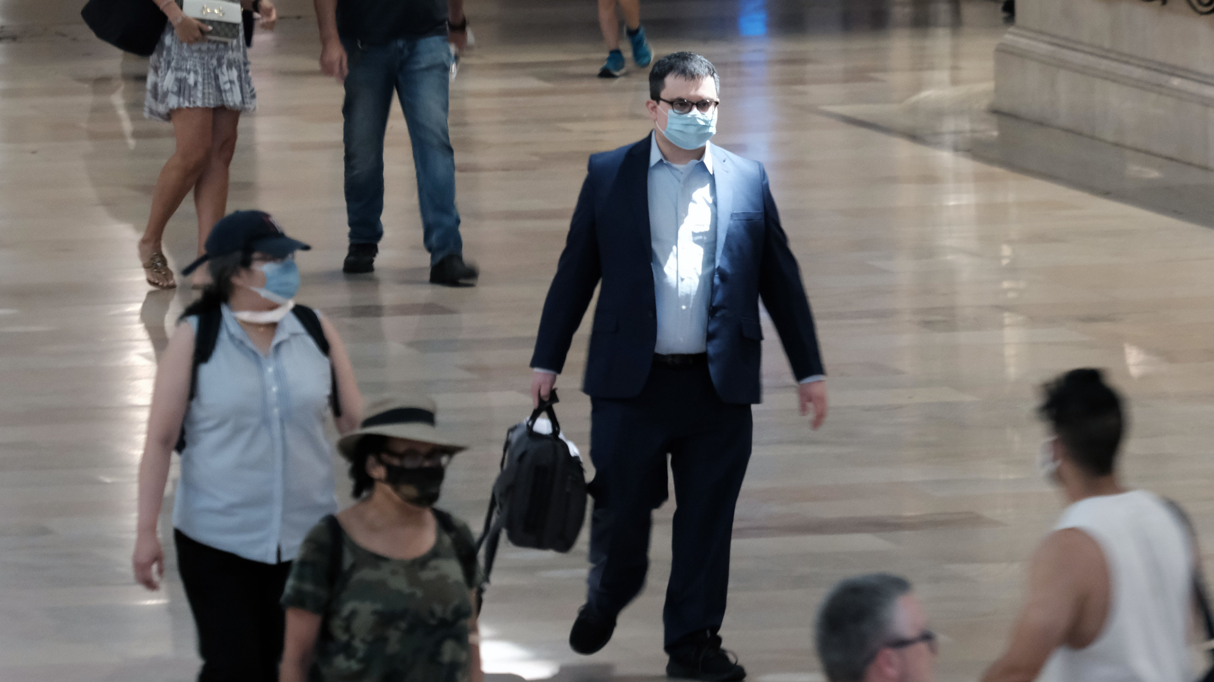 Reinstating Mask Mandates Debated Across Country As Cases Of Covid-19 Rise