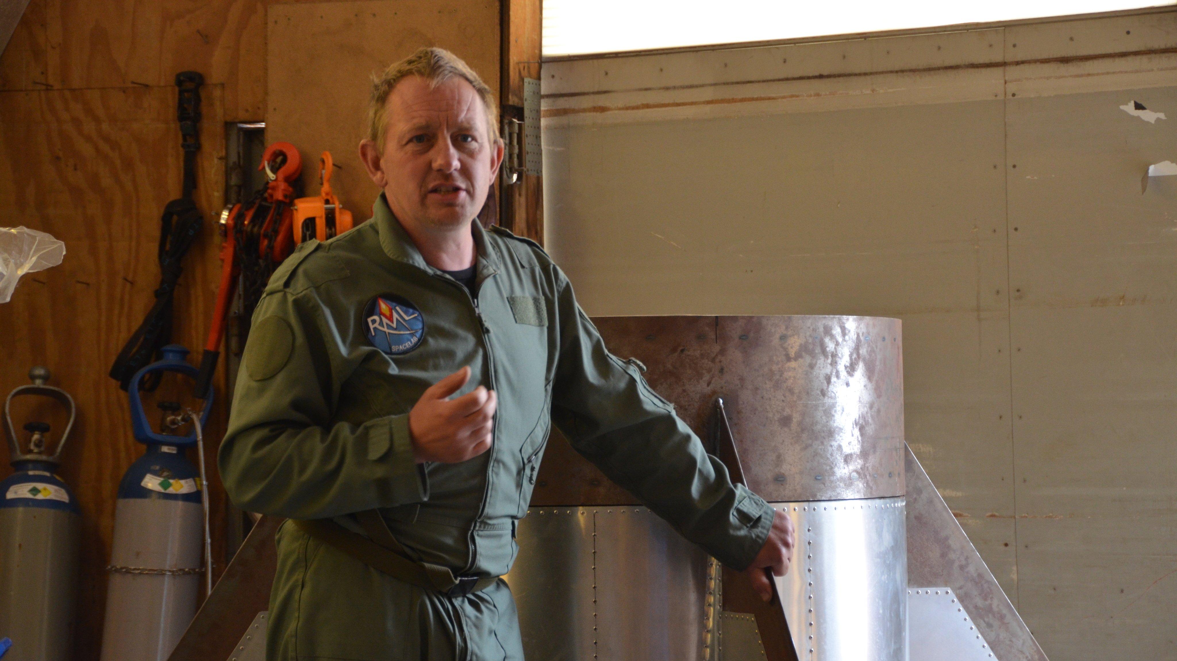 Peter Madsen And His Homemade Submarine Nautilus