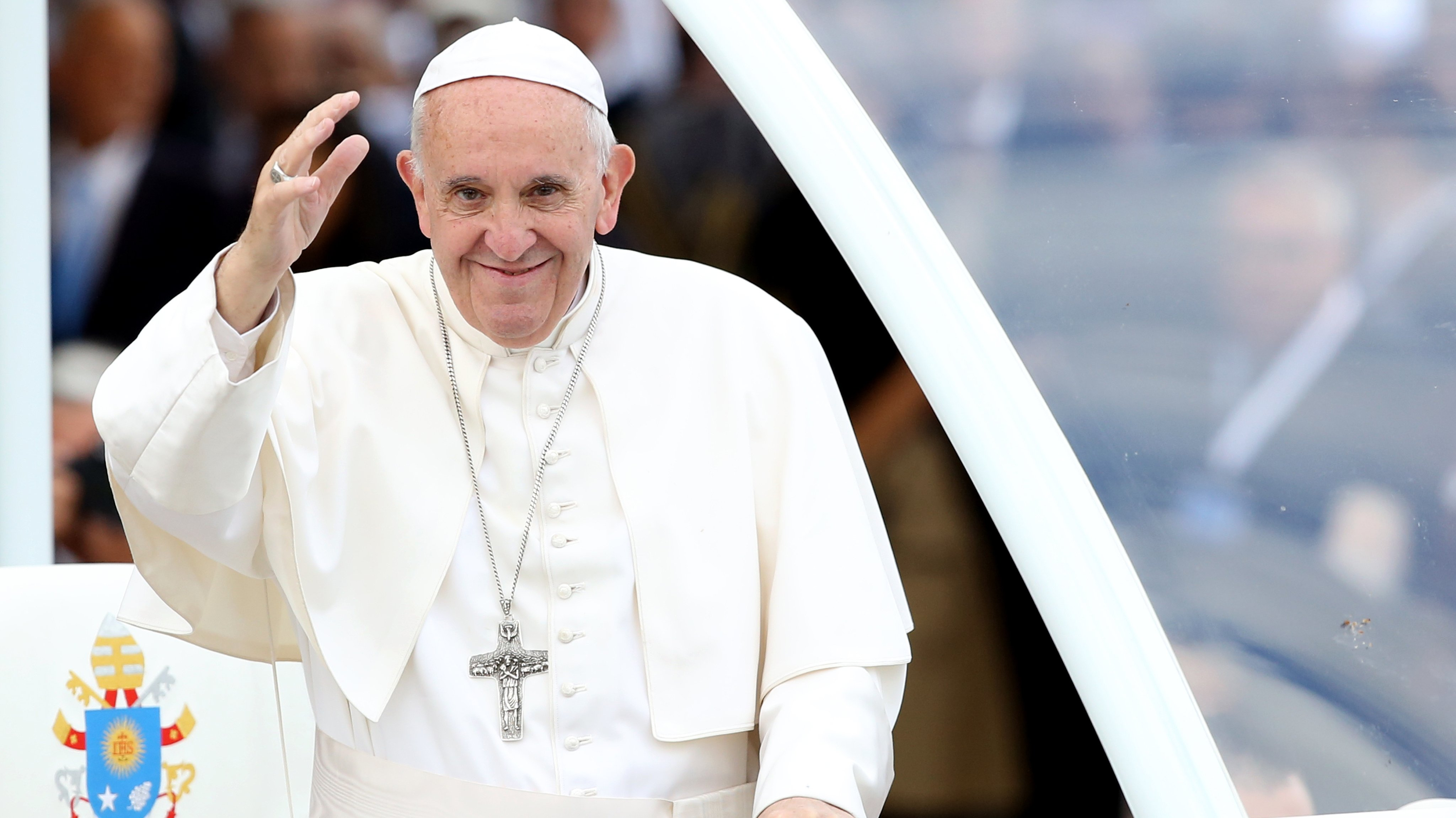 Pope Francis Visit The Fatima Sanctuary In Portugal