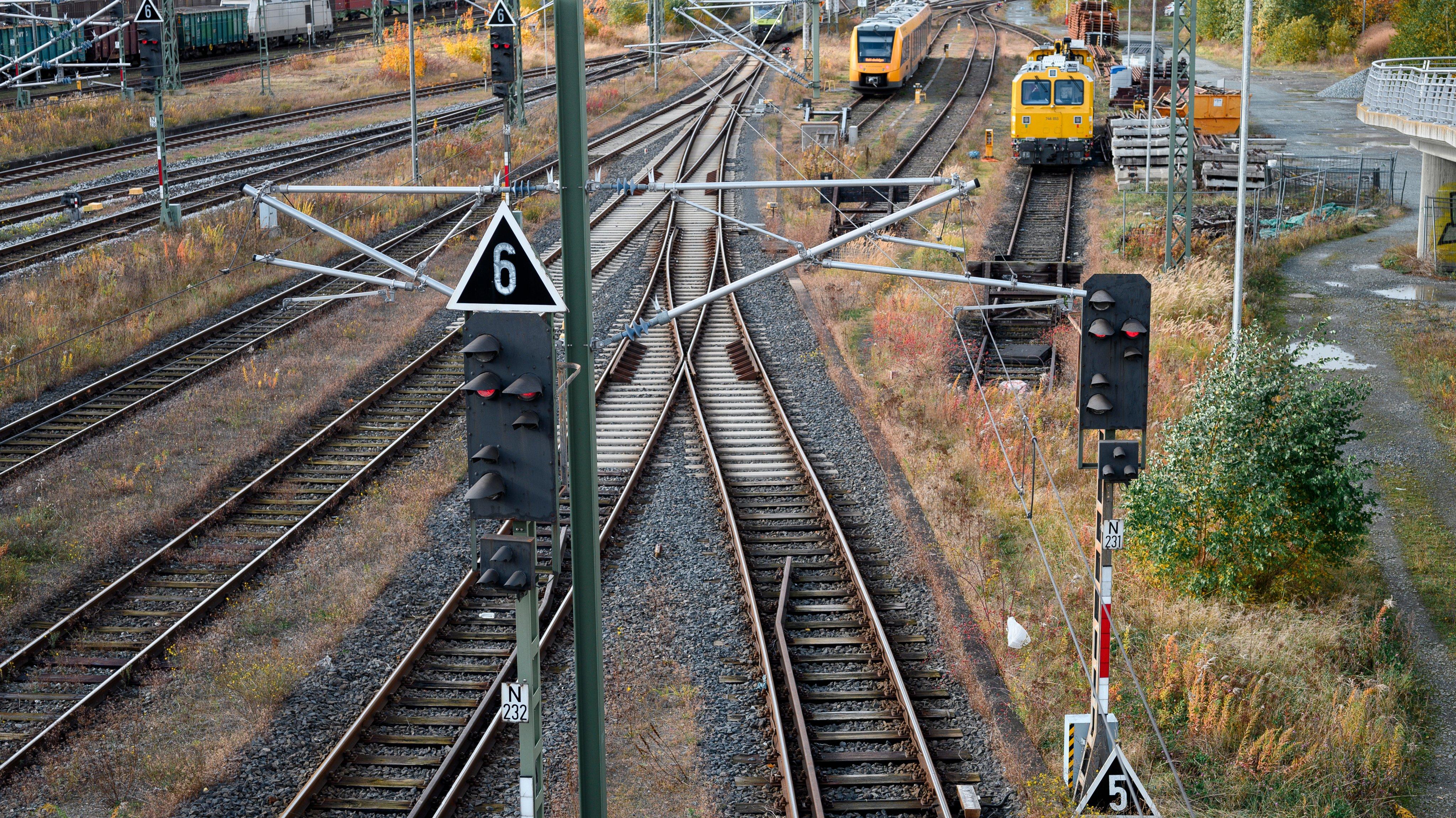 Estação Hof, na Alemanha 21 de outubro de 2021