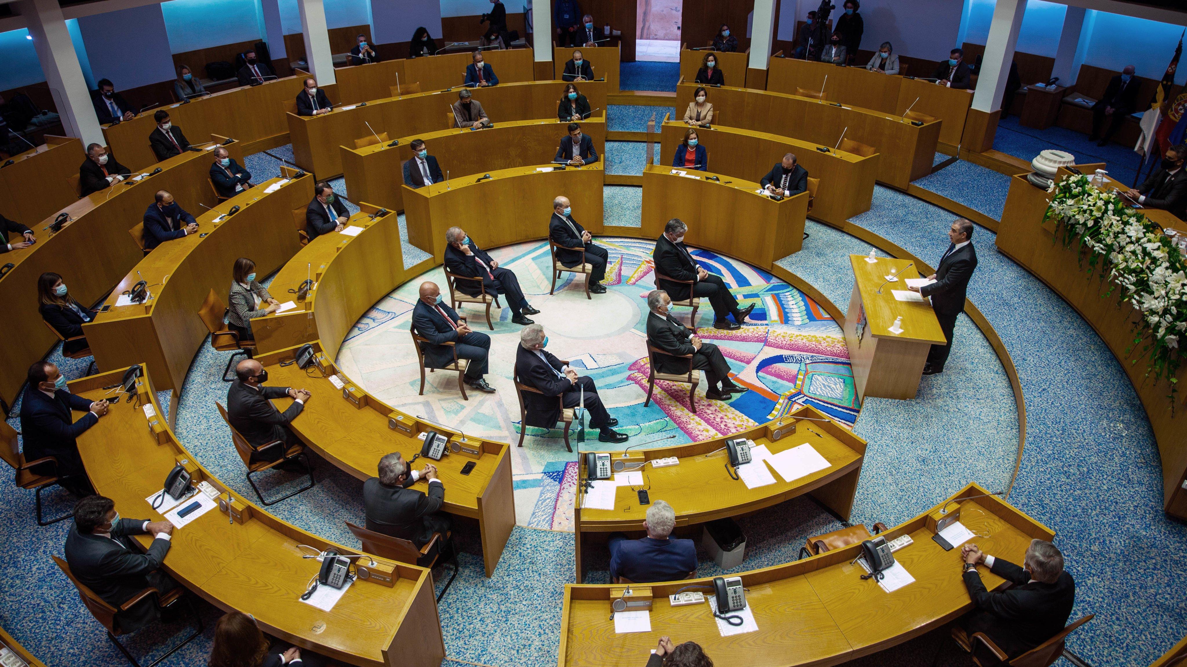 Assembleia regional dos Açores
