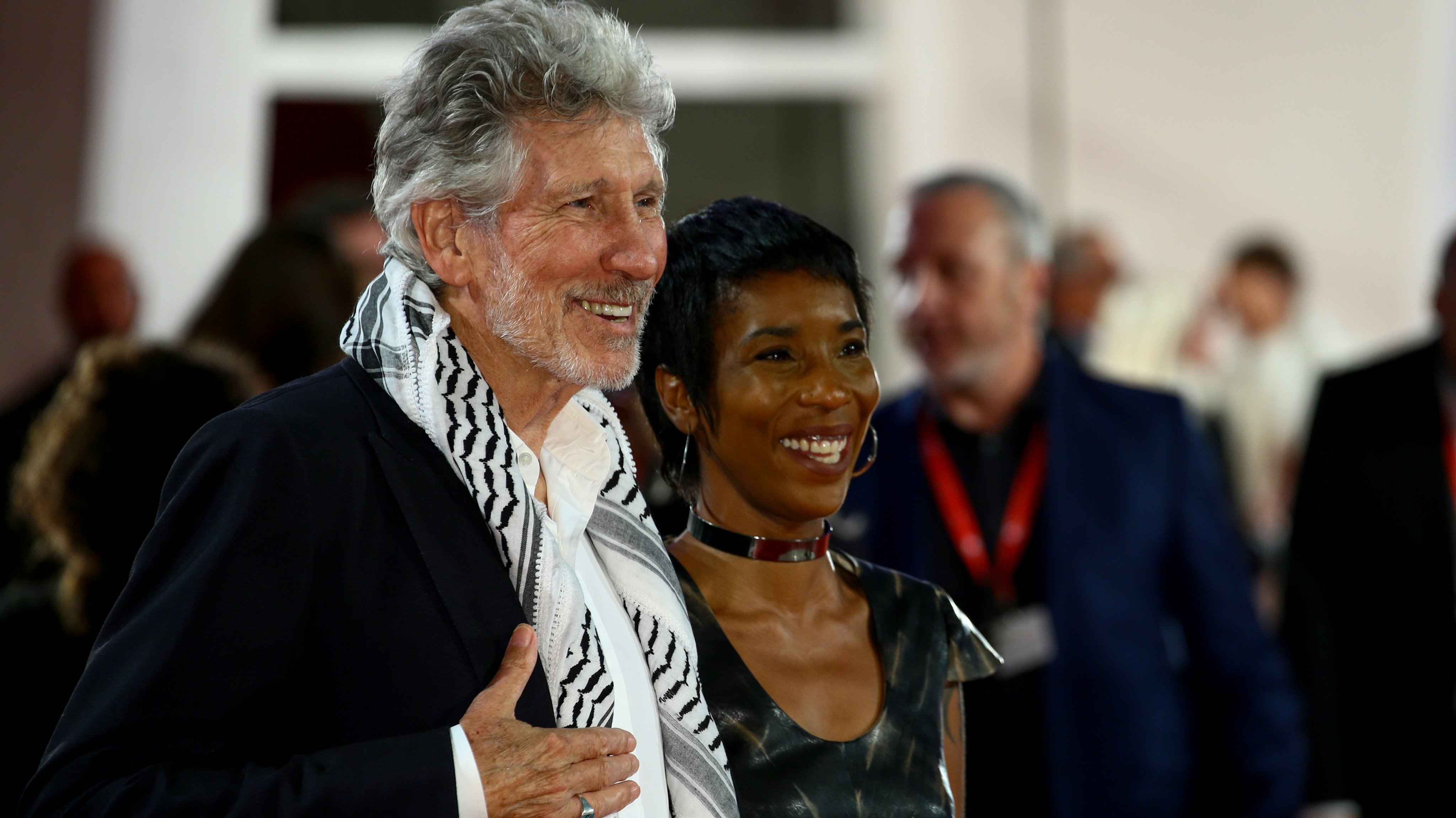 """""""Roger Waters Us + Them"""" Red Carpet Arrivals - The 76th Venice Film Festival"""
