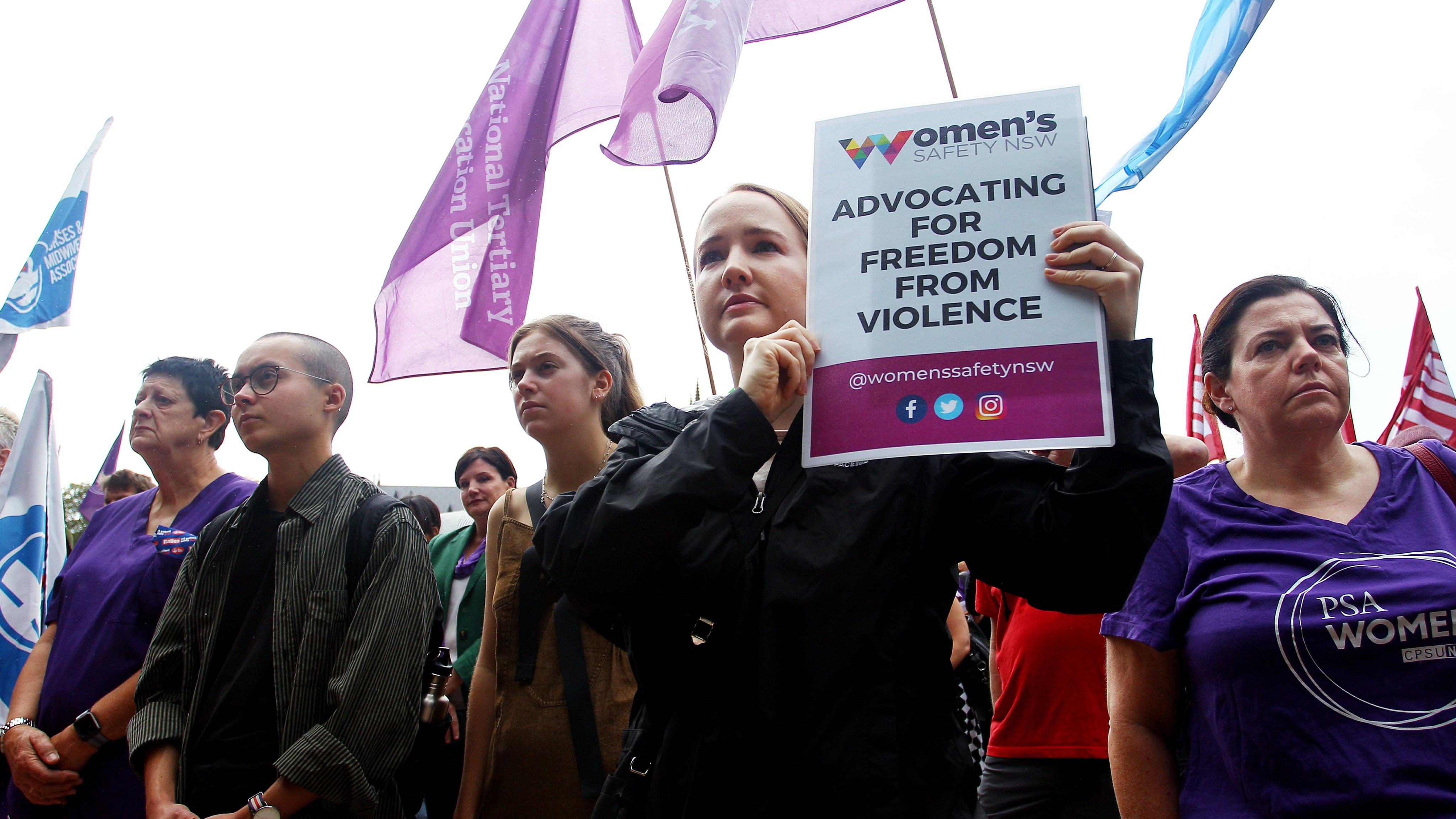 Sydneysiders Gather For International Women's Day March 2020