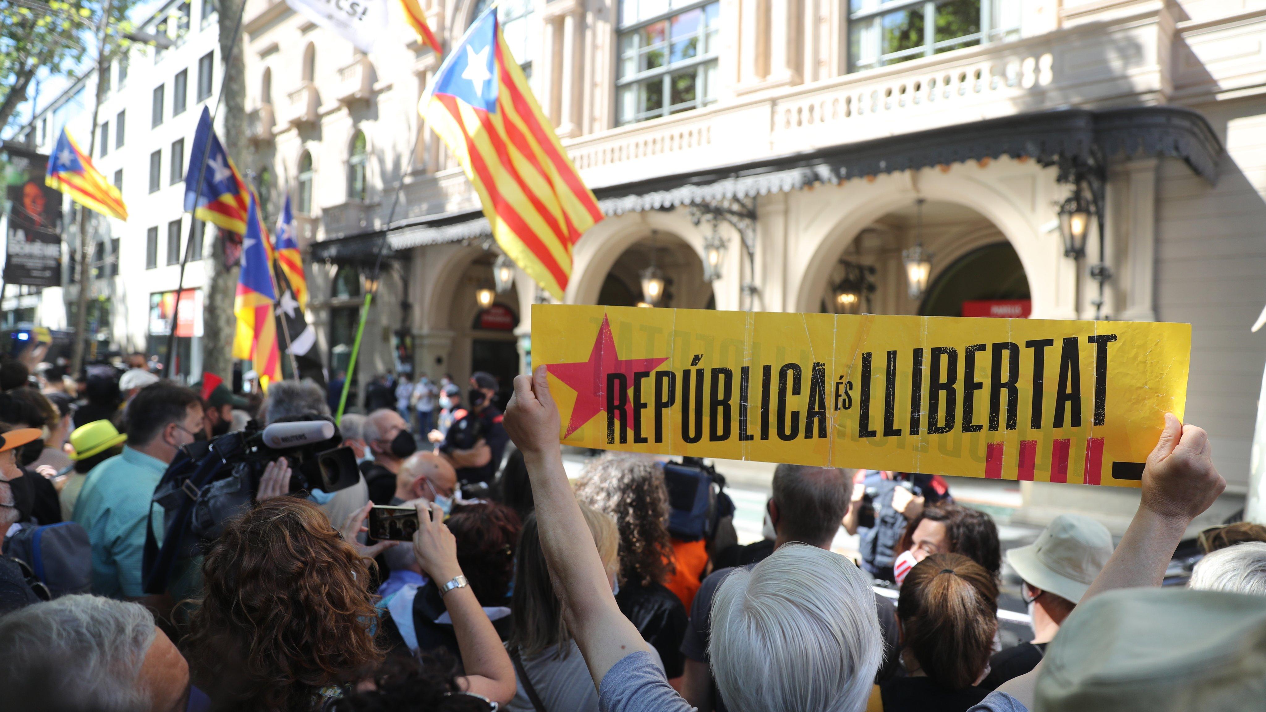 Demonstration Against Pedro Sanchez