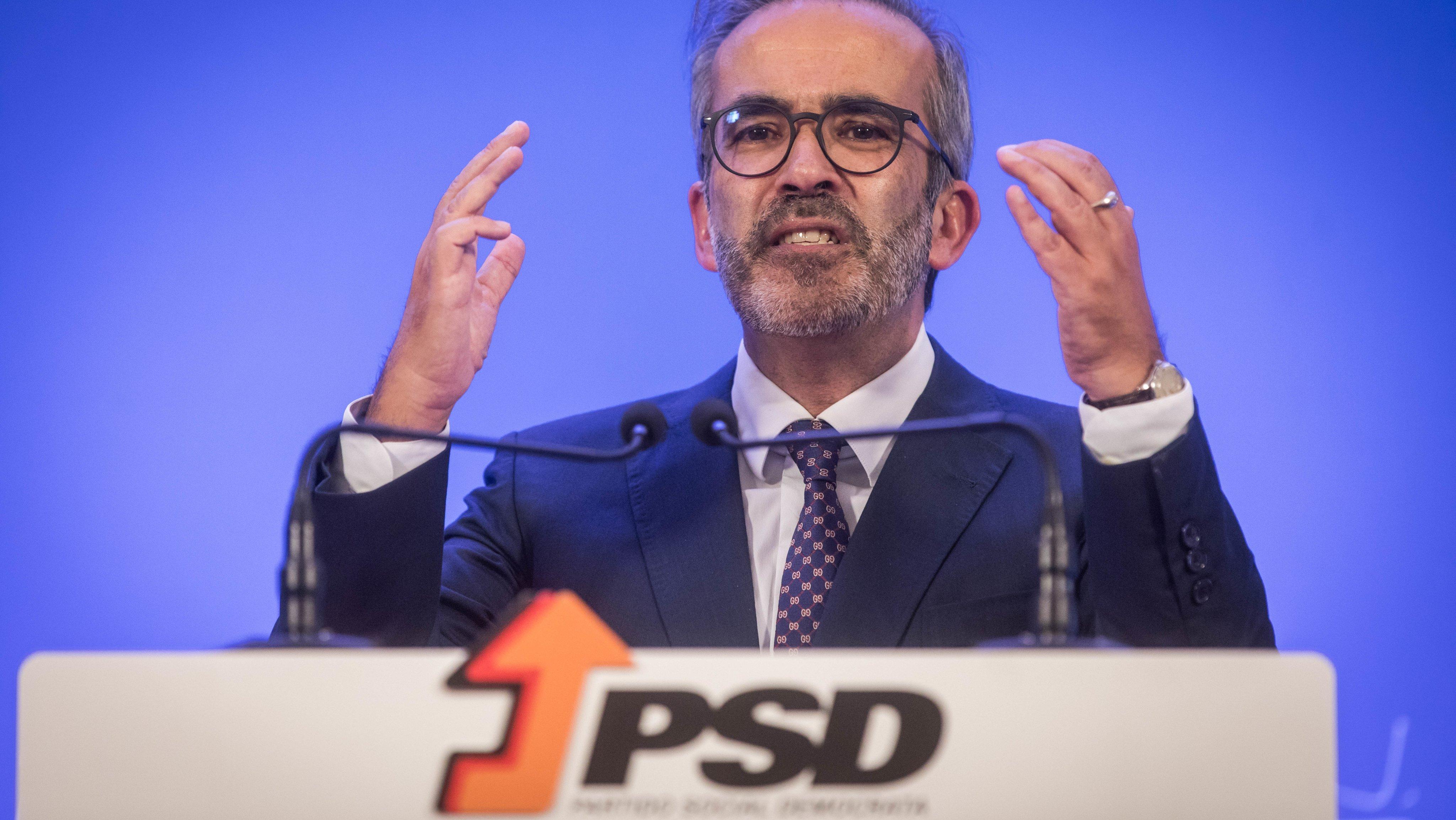 Apresentação da candidatura à liderança do PSD - Partido Social Democrata, por Paulo Rangel, eurodeputado. As próximas eleições diretas do partido realizam-se a 4 de dezembro de 2021. Lisboa, 15 de outubro de 2021. JOÃO PORFÍRIO/OBSERVADOR