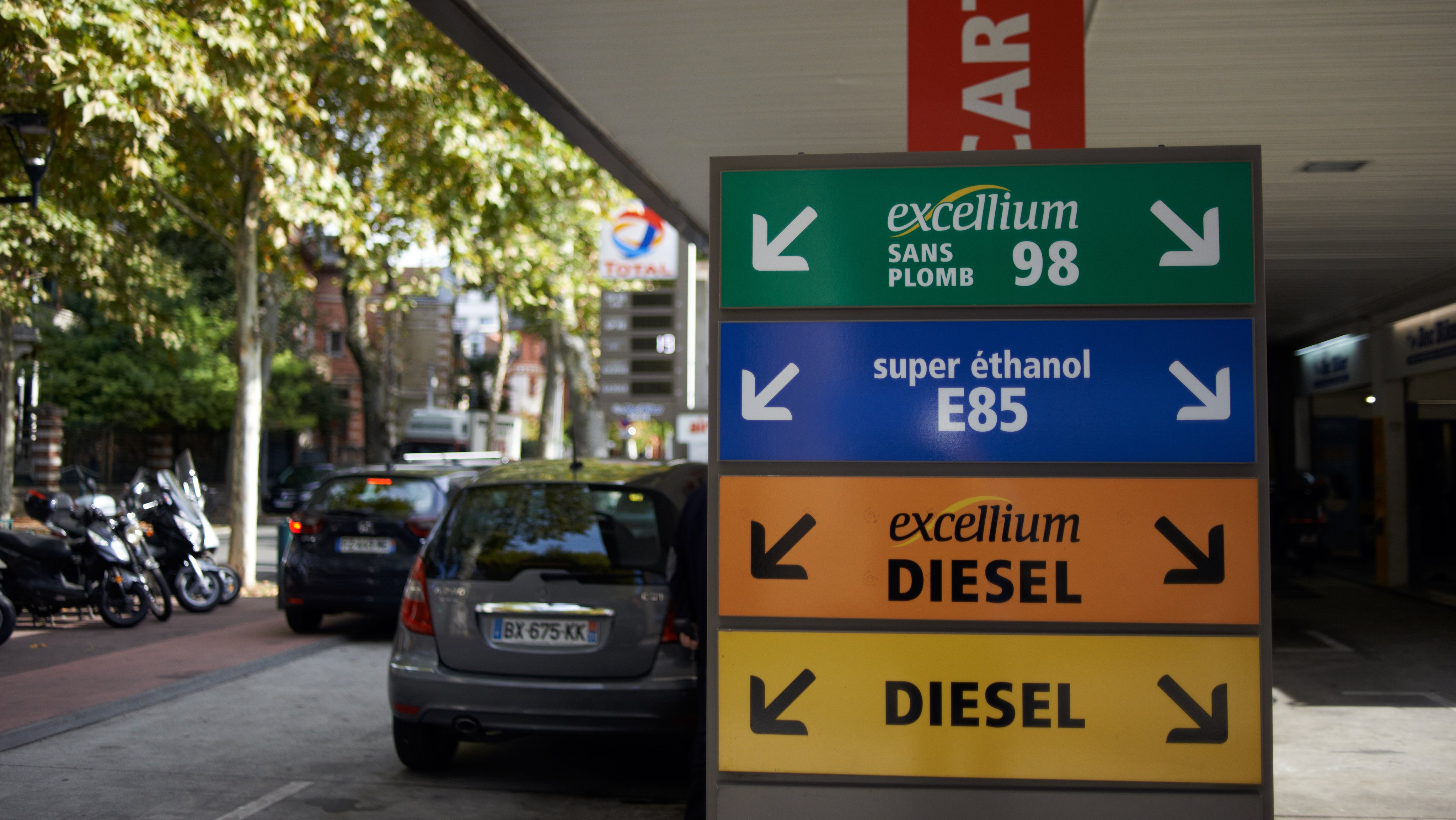 Gas Prices Skyrockets In France
