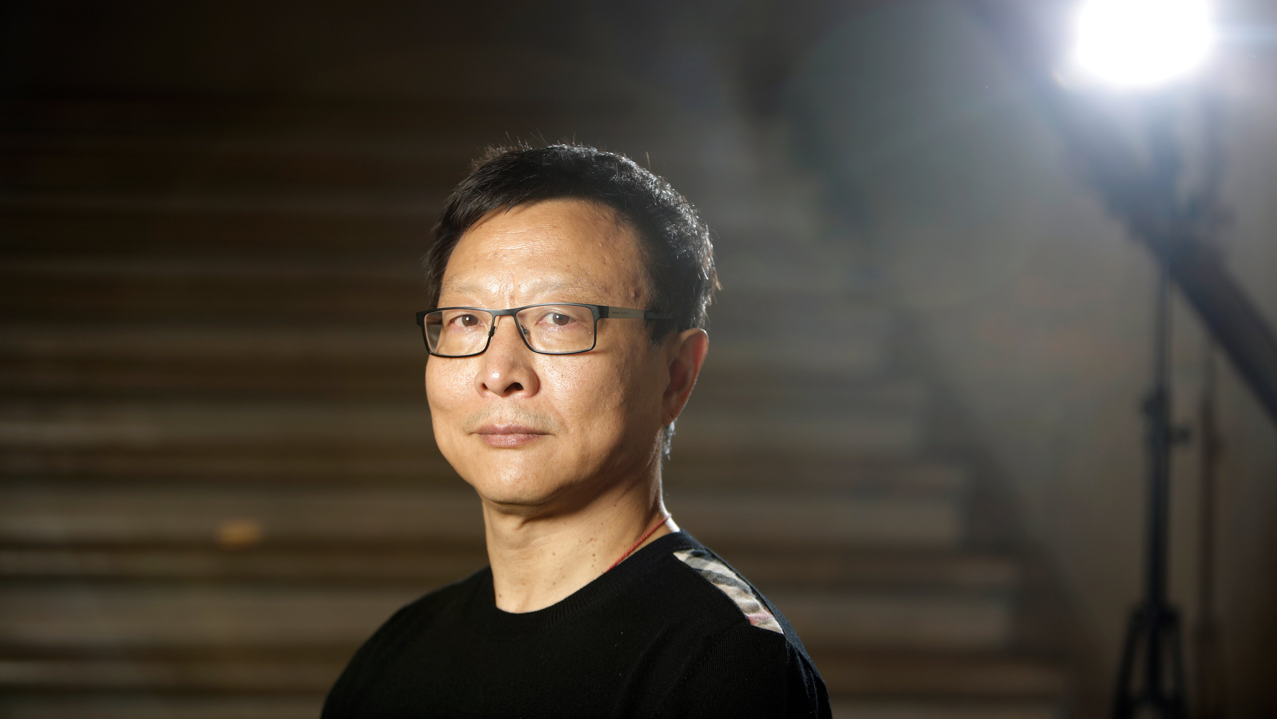 Dream of the Red Chamber composer Bright Sheng stands for a portrait at the War Memorial Opera House on Tuesday, August 16, 2016 in San Francisco, California.