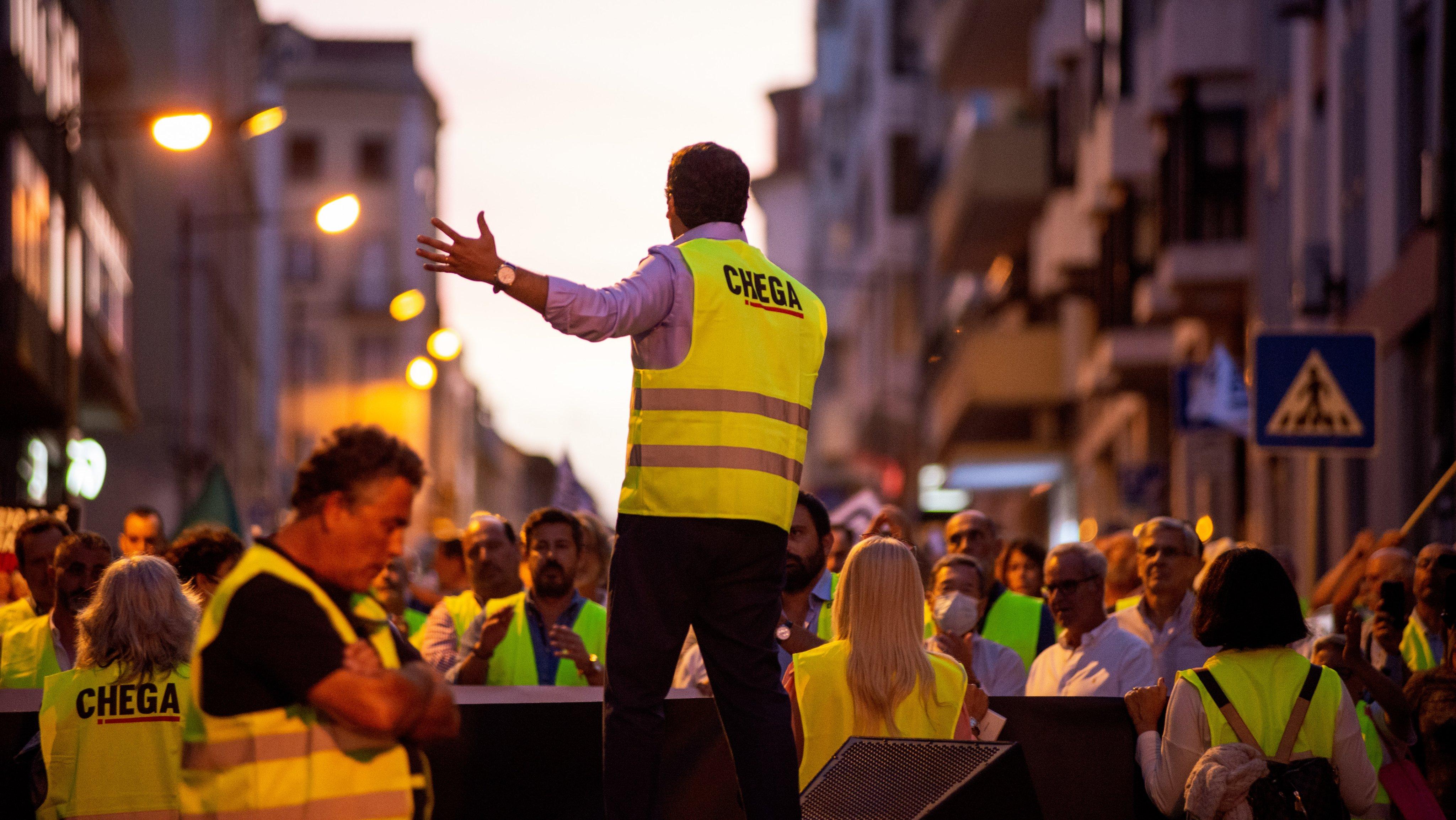 Manifestação do Chega a 19 de outubro de 2021