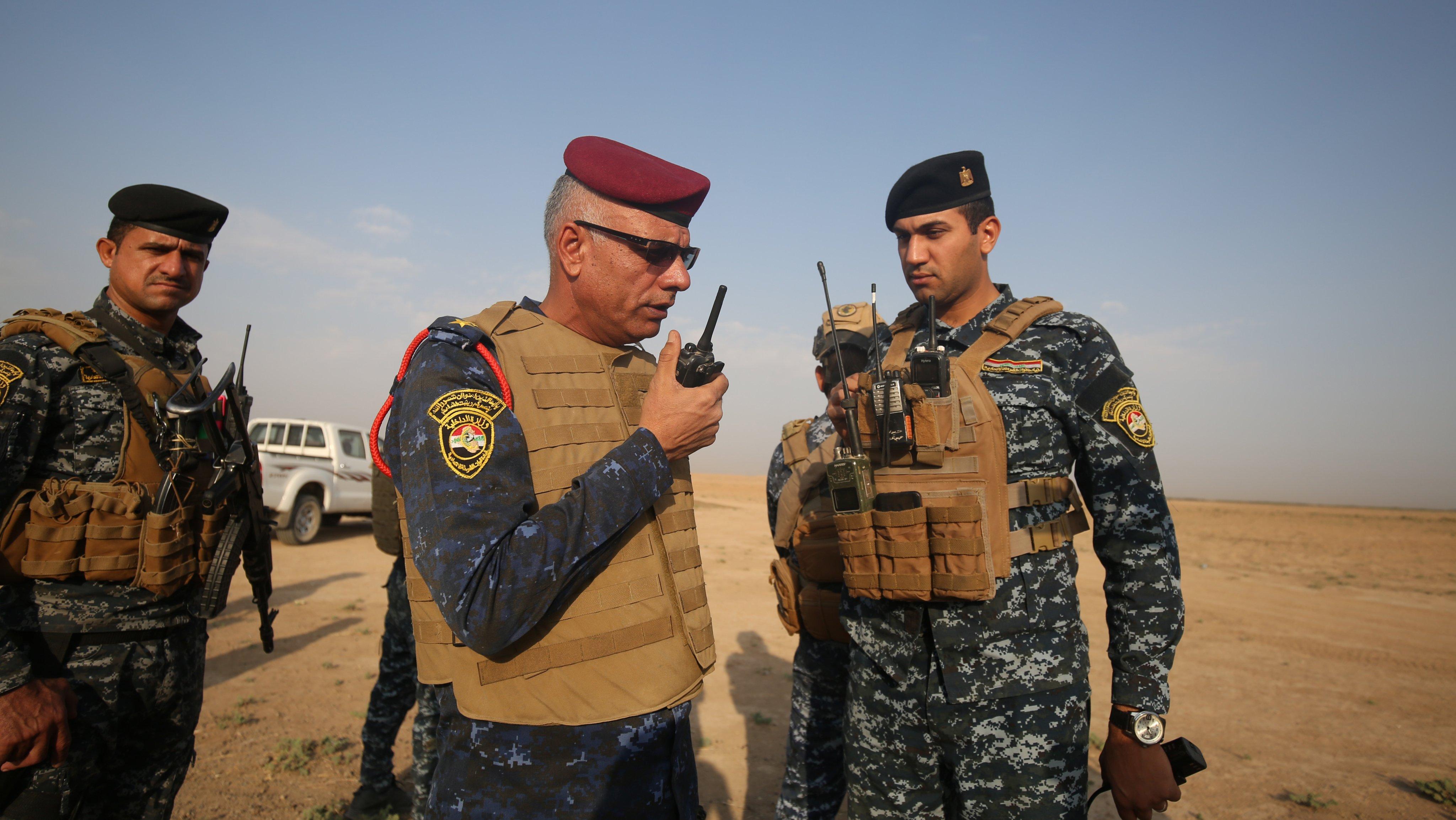 Operation against Daesh in Kirkuk