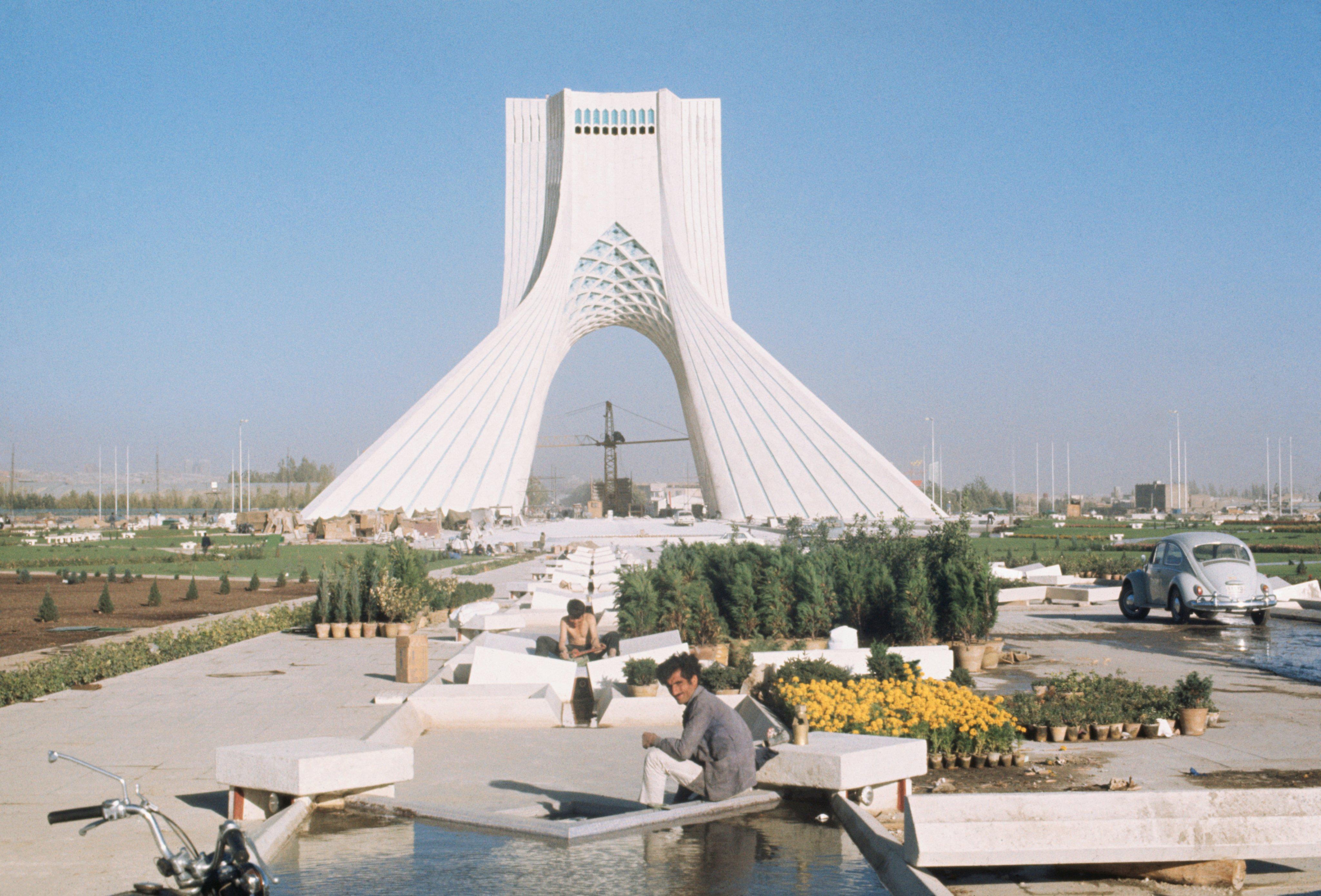 Shahyad Monument in Teheran