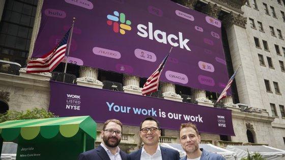 A Slack entrou em bolsa em 2019