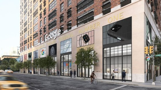 A Google ainda não revelou se vai abrir mais lojas além desta em Nova Iorque